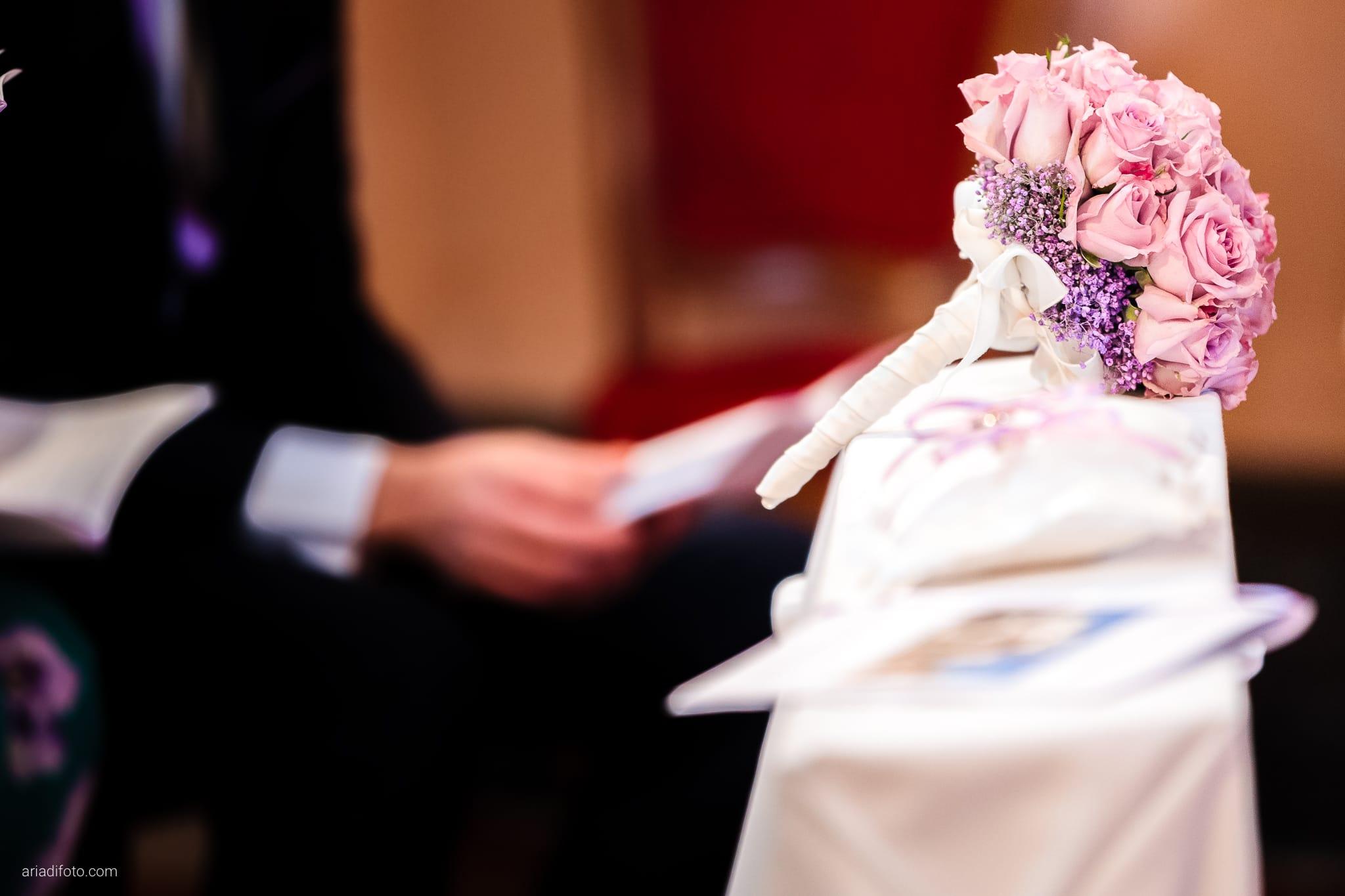 Camilla Giacomo matrimonio Duino Trieste Palazzo Lantieri Gorizia Farra cerimonia dettagli bouquet San Giovanni Battista