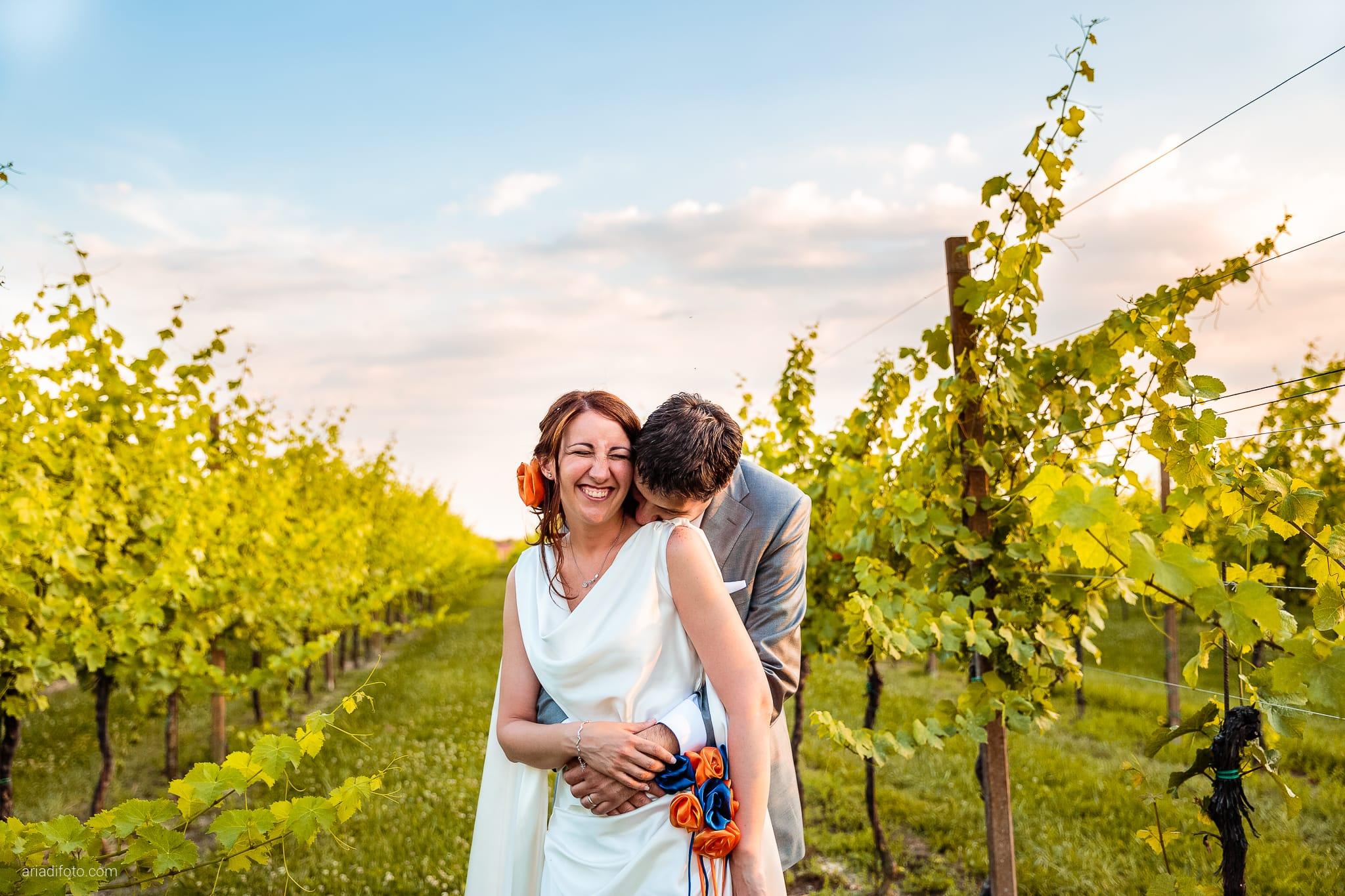 Elisa Diego matrimonio Villa Revoltella Trieste Paradiso Pocenia Udine ritratti sposi vitigni