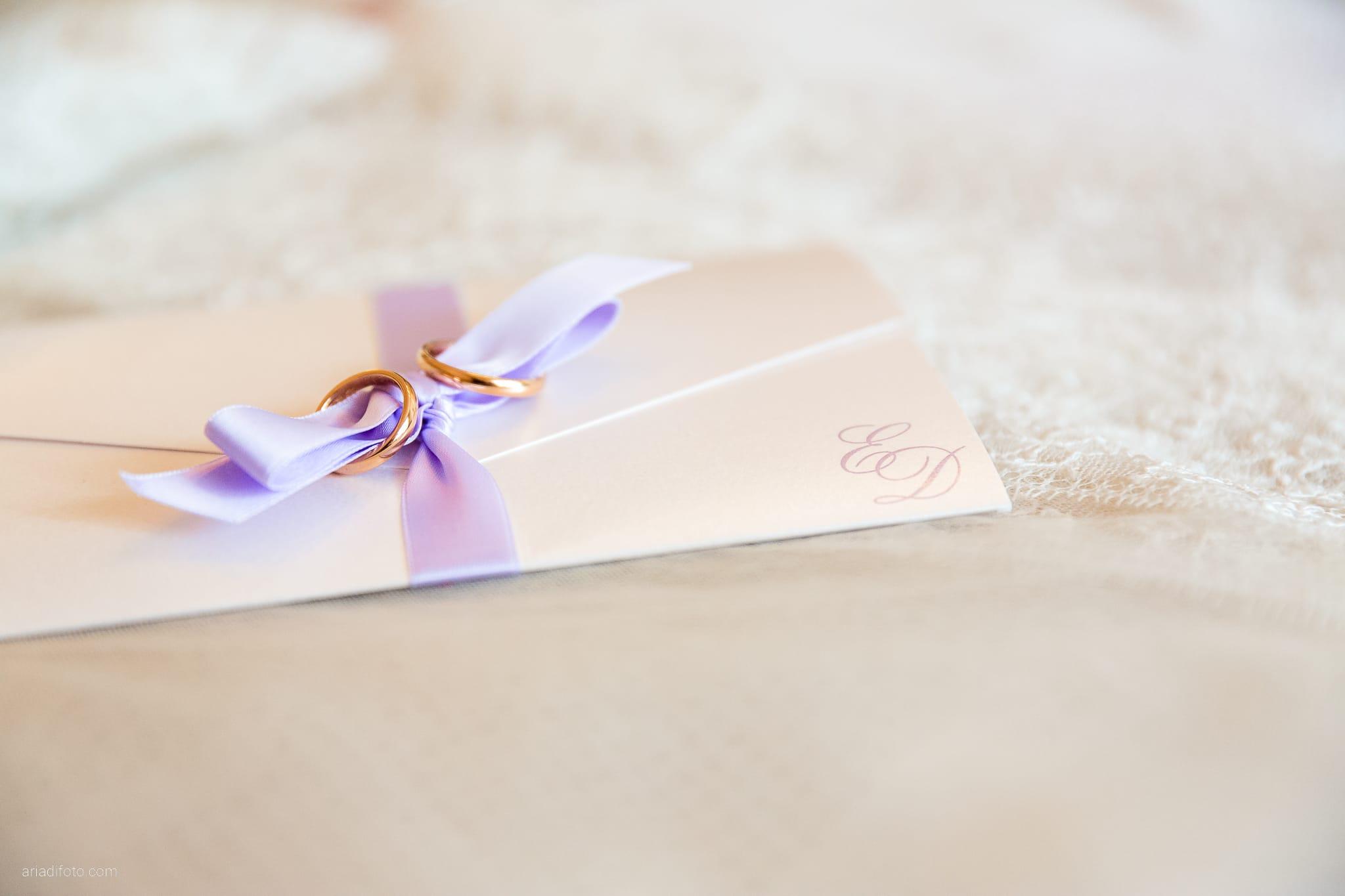 Donatella Enrico matrimonio Castello Duino Trieste preparativi dettagli anelli partecipazioni fiocco