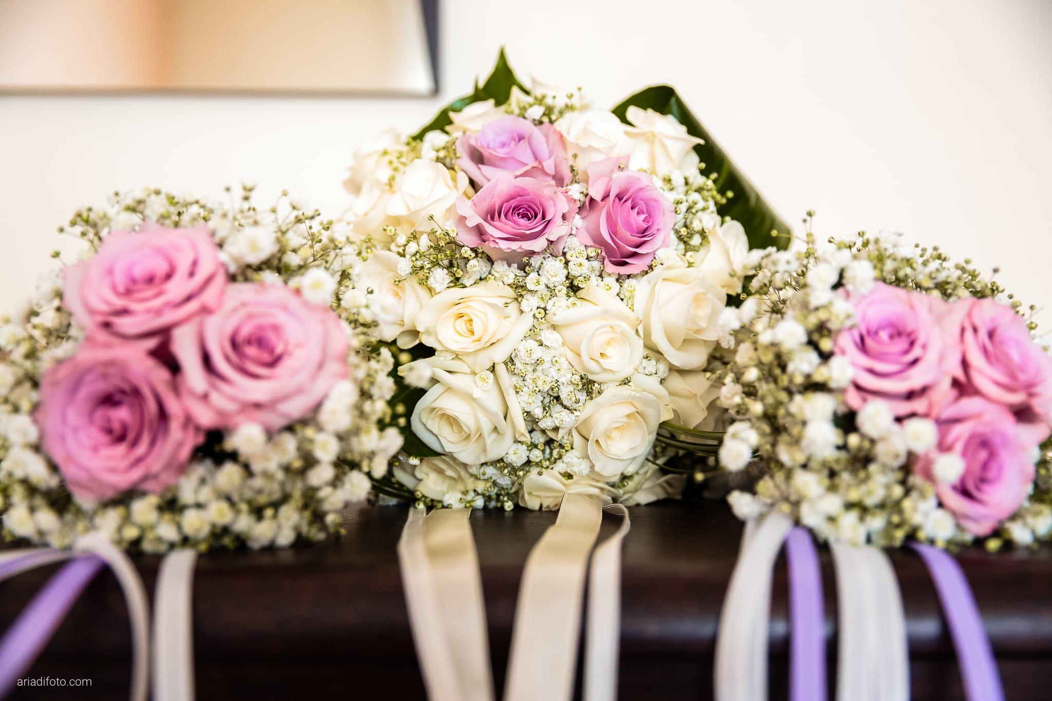 Donatella Enrico matrimonio Castello Duino Trieste preparativi dettagli bouquet damigelle