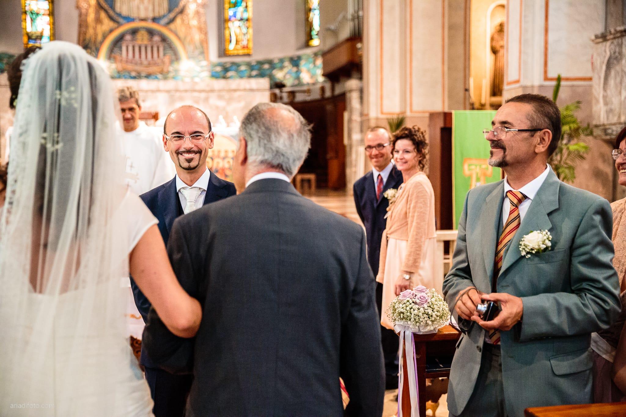 Donatella Enrico matrimonio Castello Duino Trieste cerimonia ingresso sposa Madonna del Mare