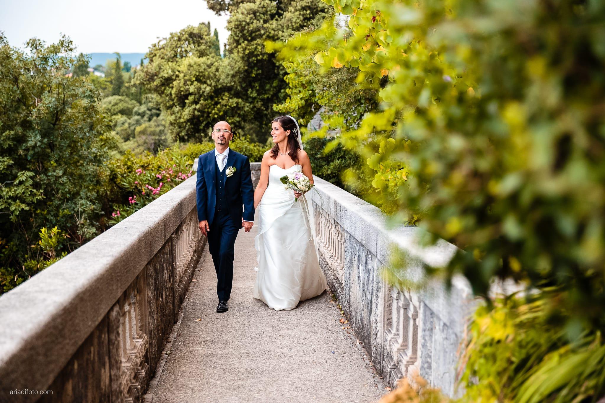 Donatella Enrico matrimonio Castello Duino Trieste ricevimento momenti