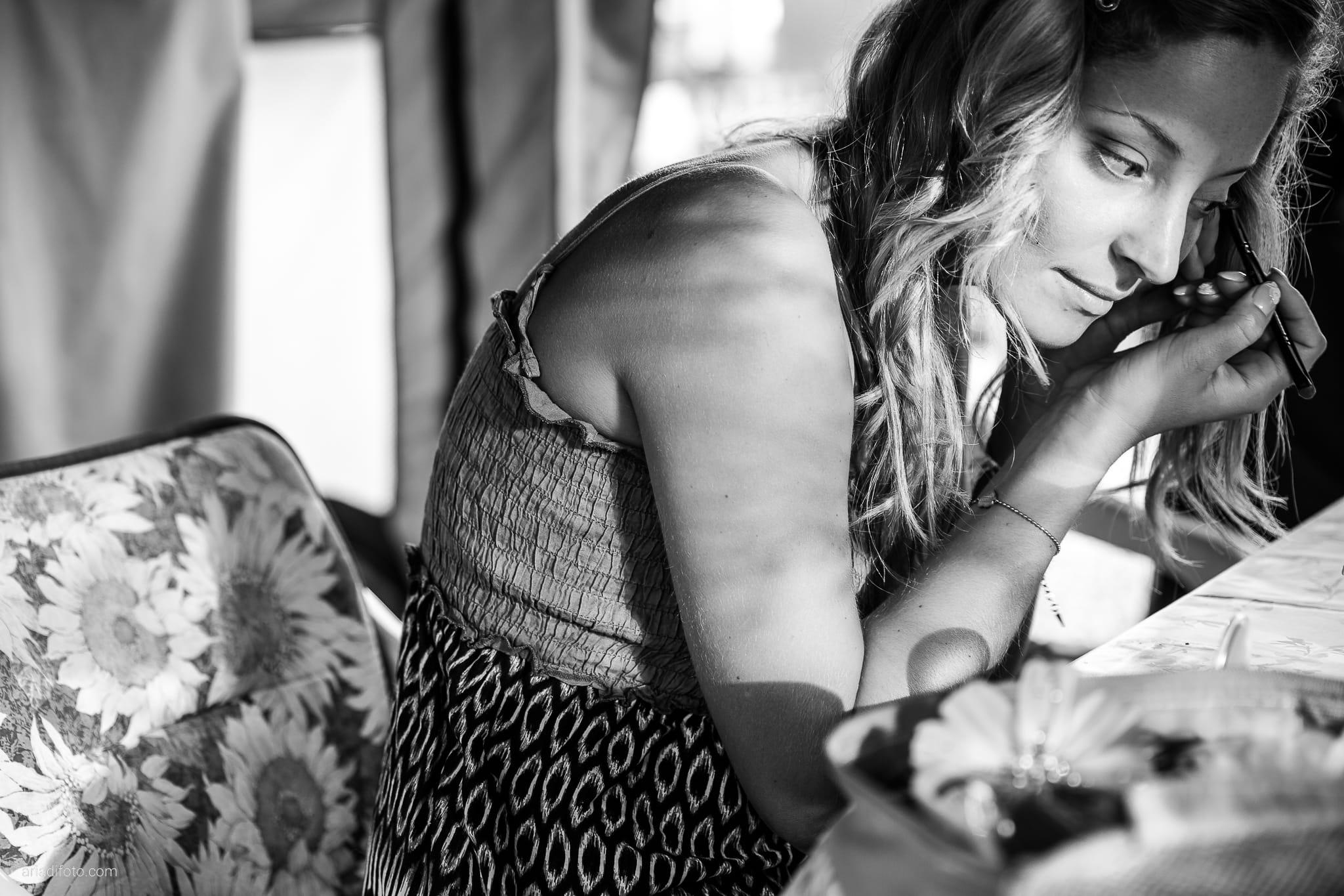 Sara Marco matrimonio Grado campeggio Punta Spin Gorizia preparativi trucco