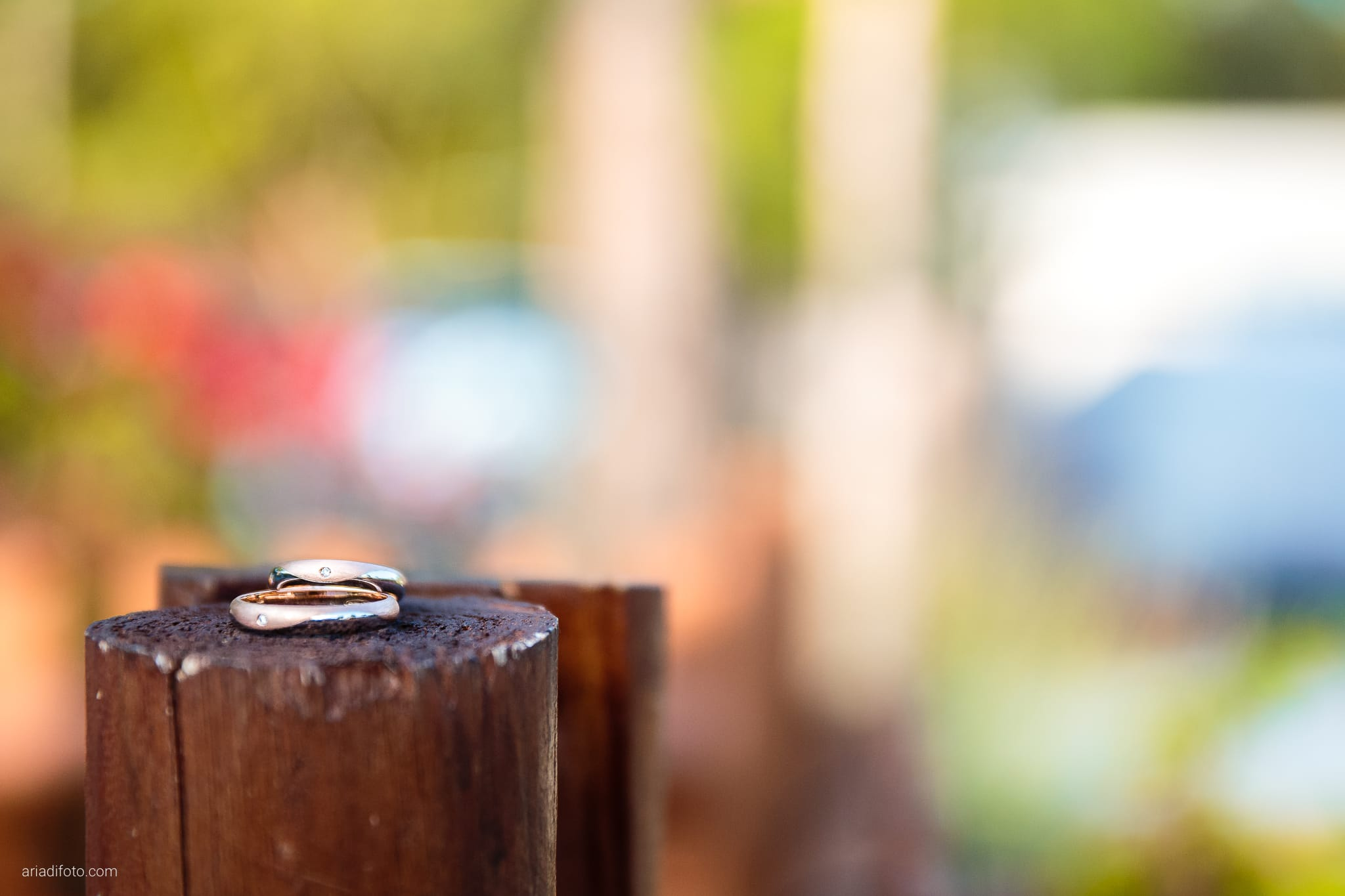 Sara Marco matrimonio Grado campeggio Punta Spin Gorizia preparativi anelli