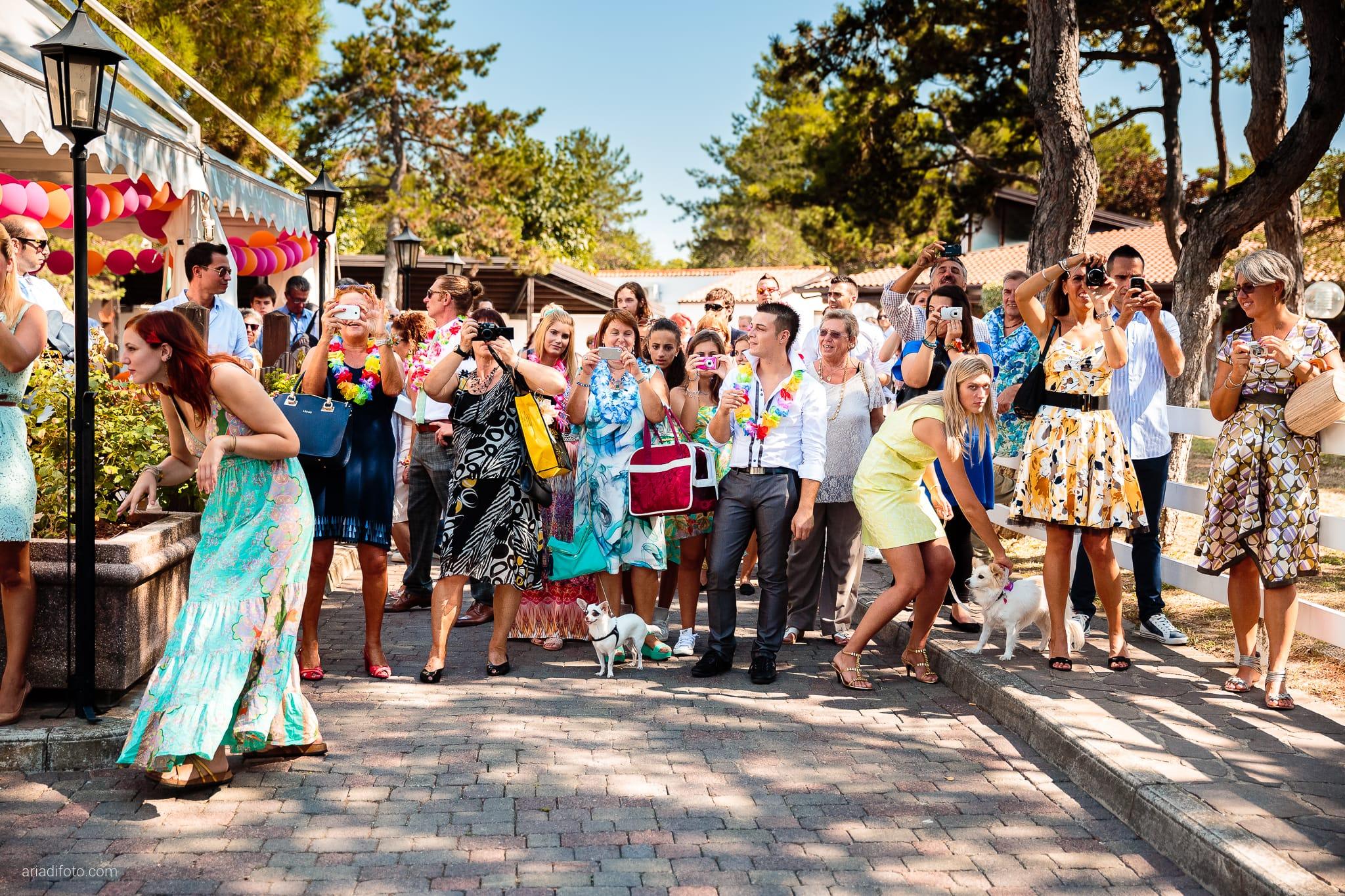 Sara Marco matrimonio Grado campeggio Punta Spin Gorizia ricevimento invitati