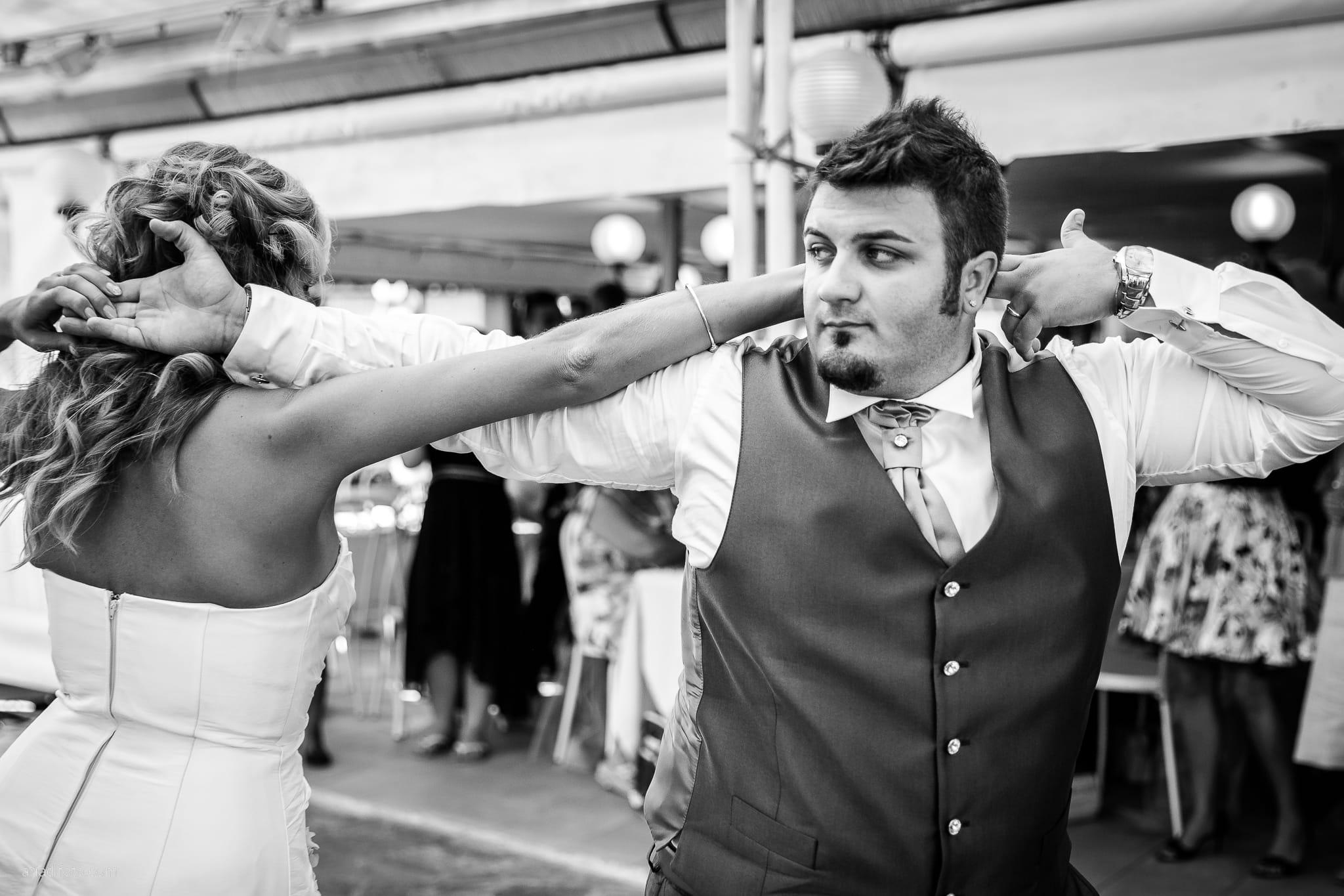 Sara Marco matrimonio Grado campeggio Punta Spin Gorizia ricevimento festa primo ballo