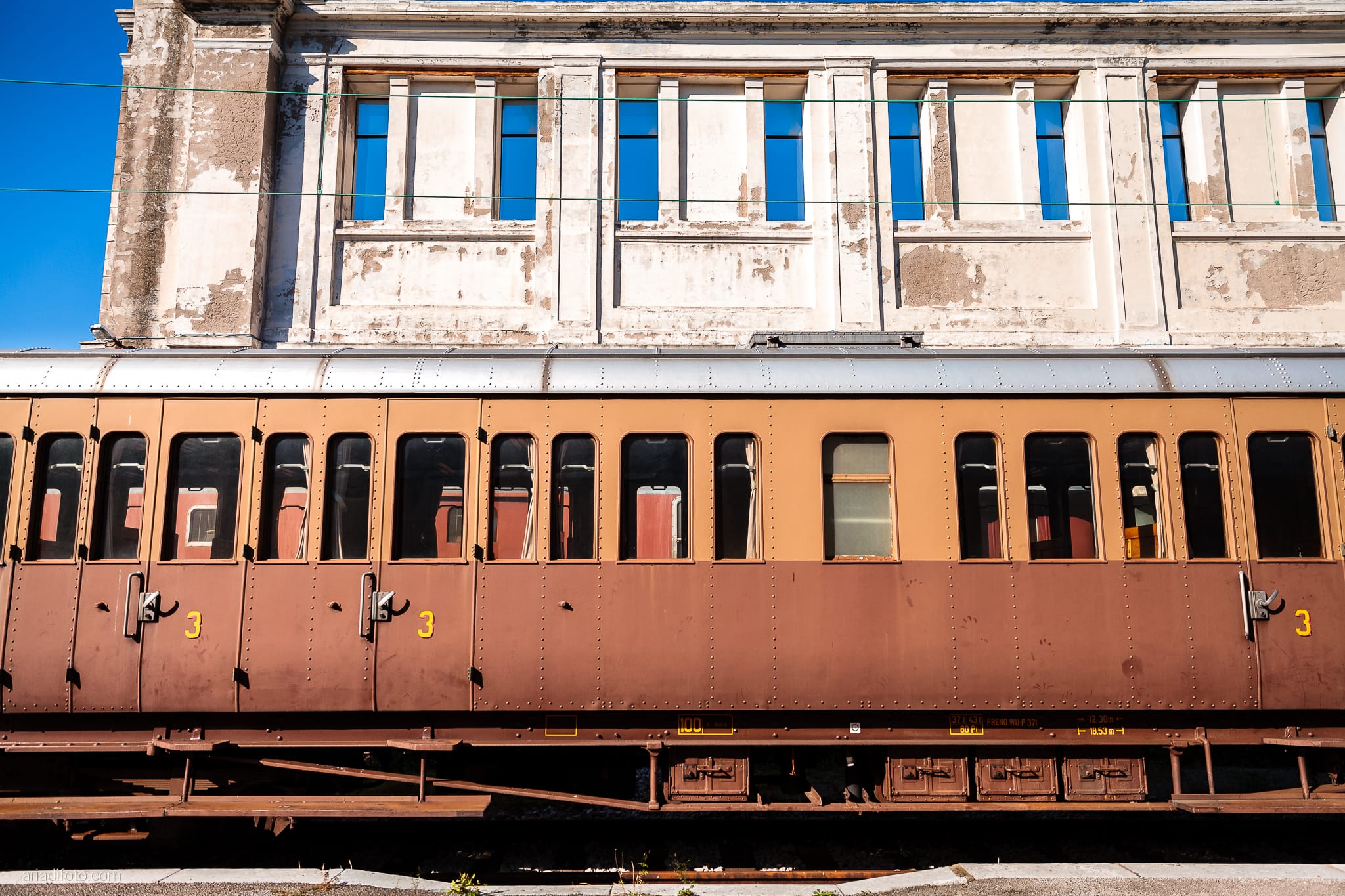 Elena Lorenzo prematrimoniale Museo Ferroviario Trieste