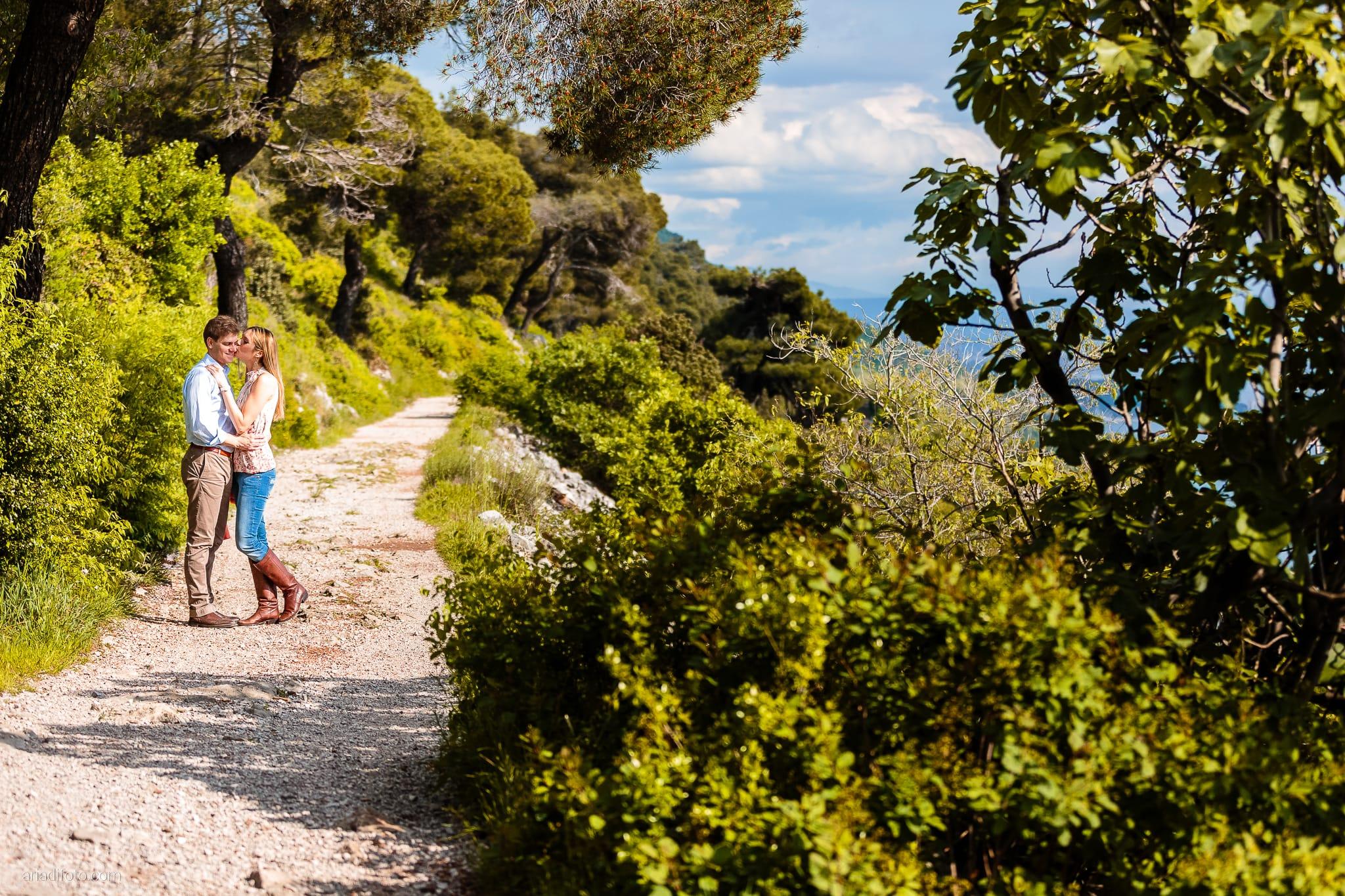 Martina Maurizio prematrimoniale costiera sentiero Santa Croce Trieste