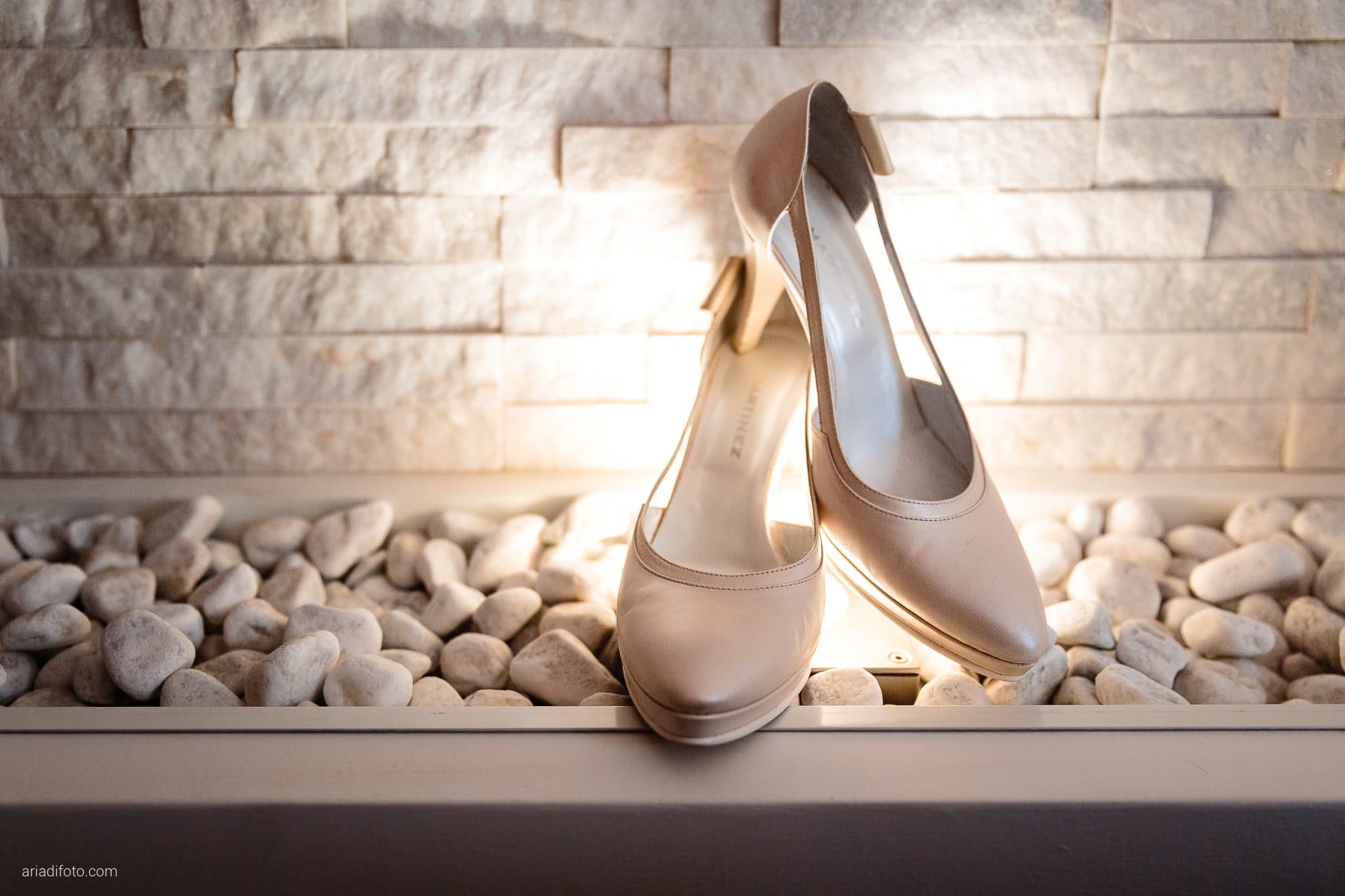 Alessandra Paolo matrimonio Villa Iachia Ruda Udine preparativi dettagli scarpe