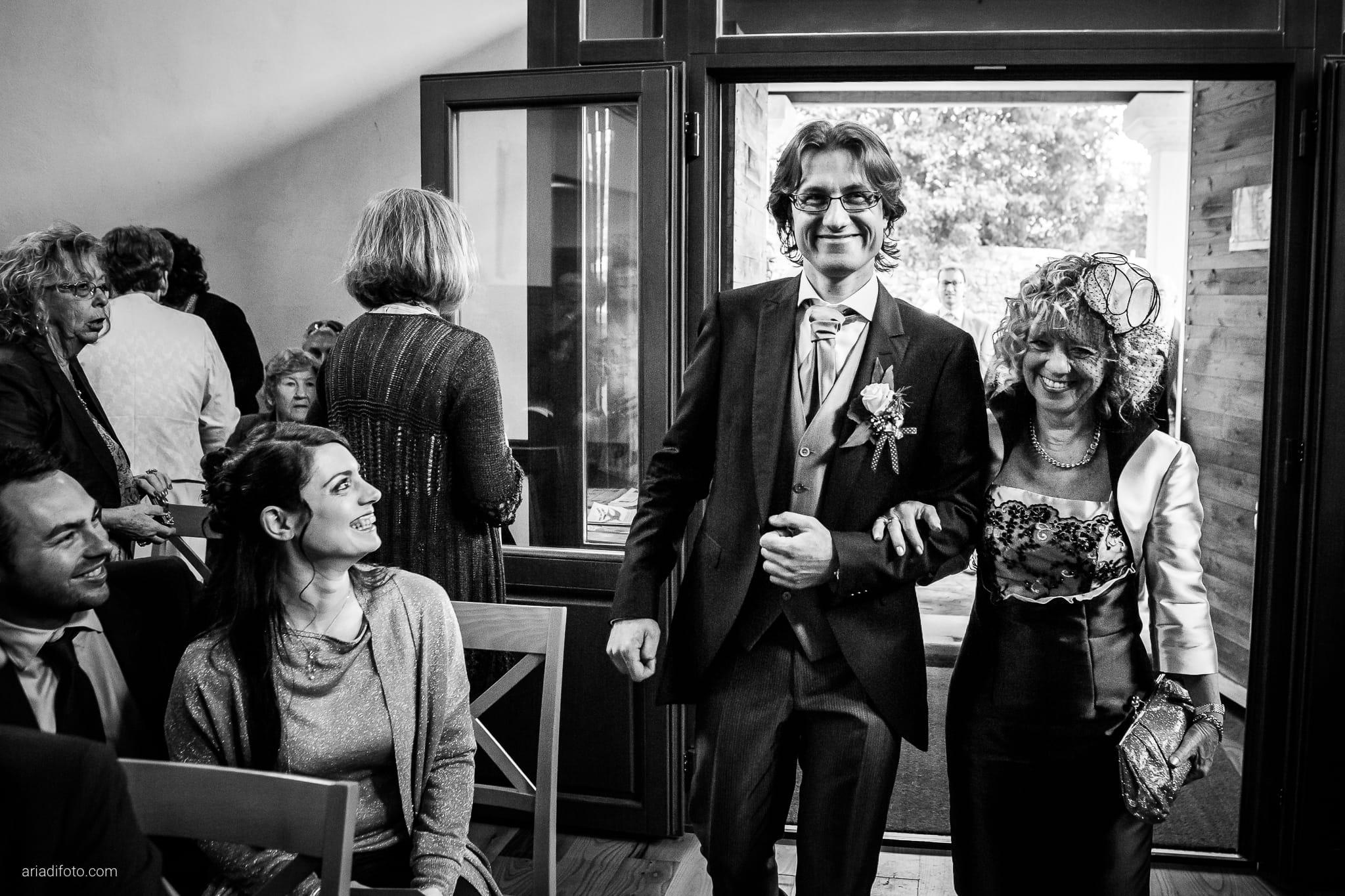 Alessandra Paolo matrimonio Villa Iachia Ruda Udine cerimonia ingresso sposo Monastero San Cipriano
