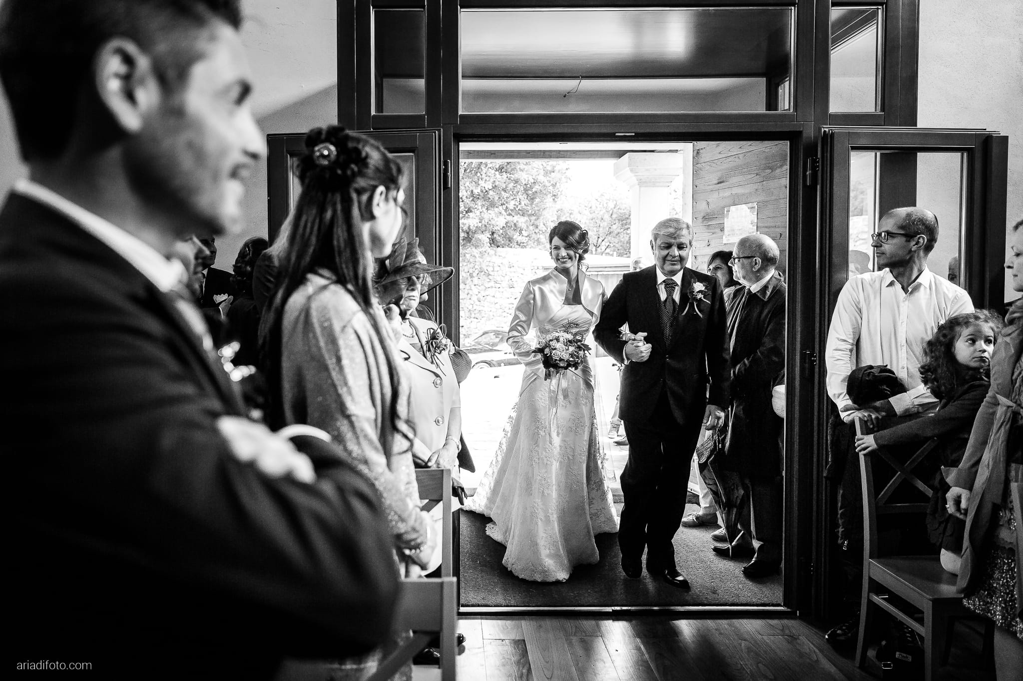 Alessandra Paolo matrimonio Villa Iachia Ruda Udine cerimonia ingresso sposa Monastero San Cipriano