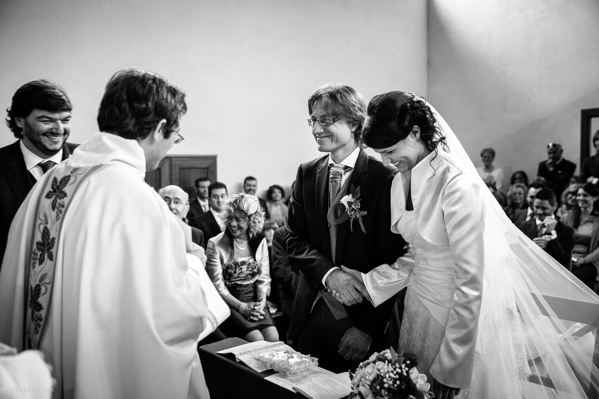 Alessandra Paolo matrimonio Villa Iachia Ruda Udine cerimonia promesse Monastero San Cipriano