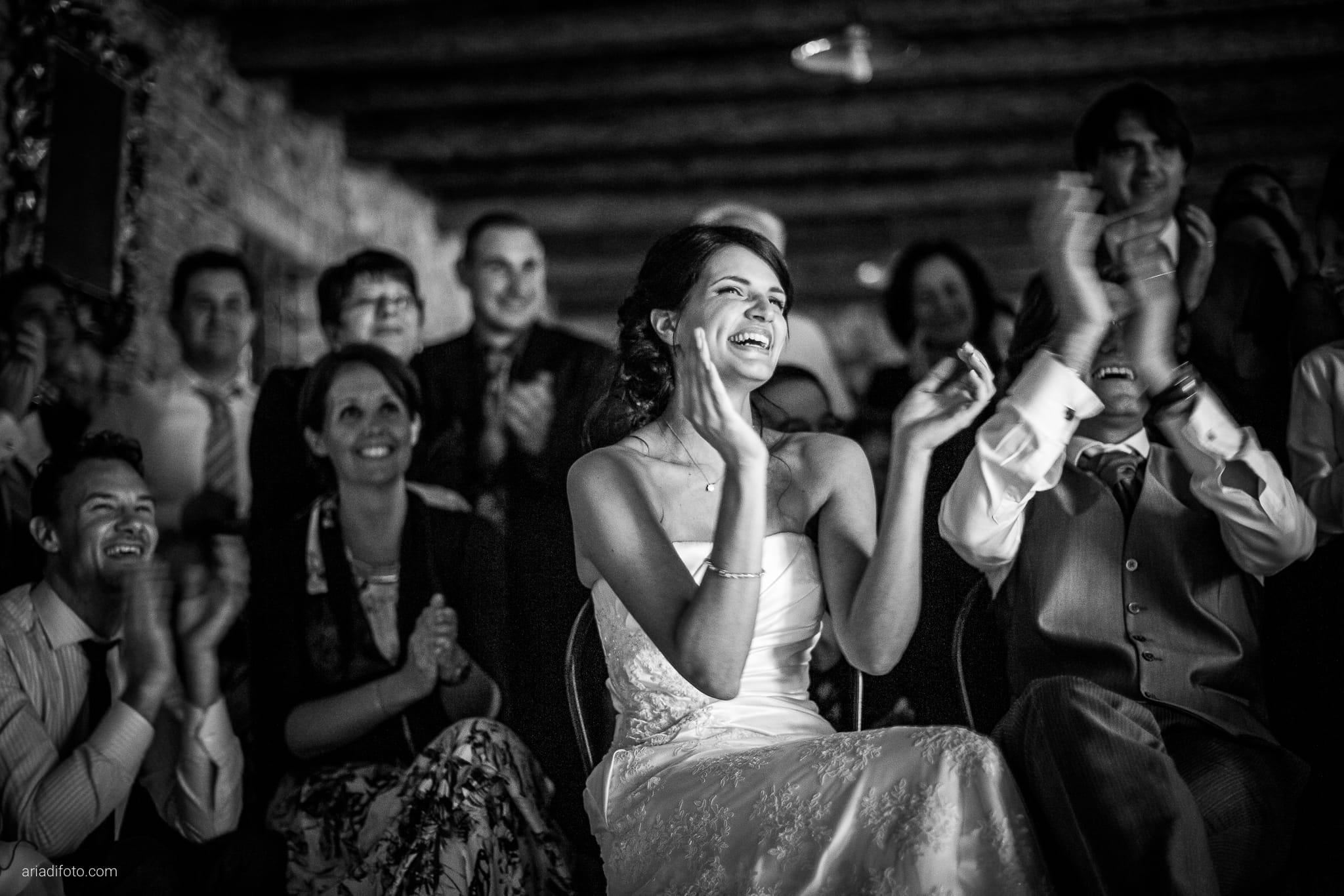Alessandra Paolo matrimonio Villa Iachia Ruda Udine ricevimento scherzi amici
