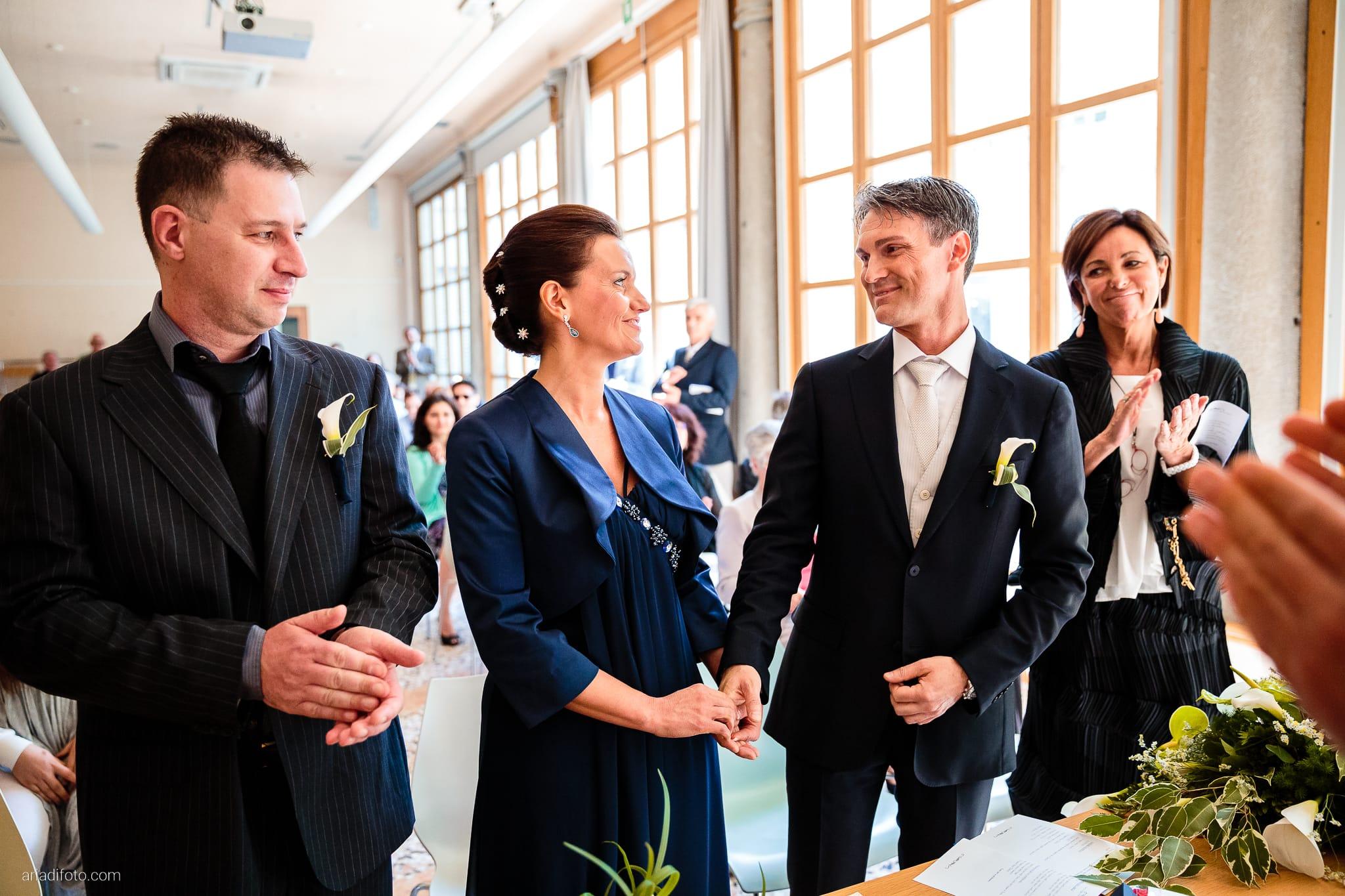 Elena Lorenzo matrimonio Zemono Vipacco Slovenia cerimonia civile Museo Sartorio promesse