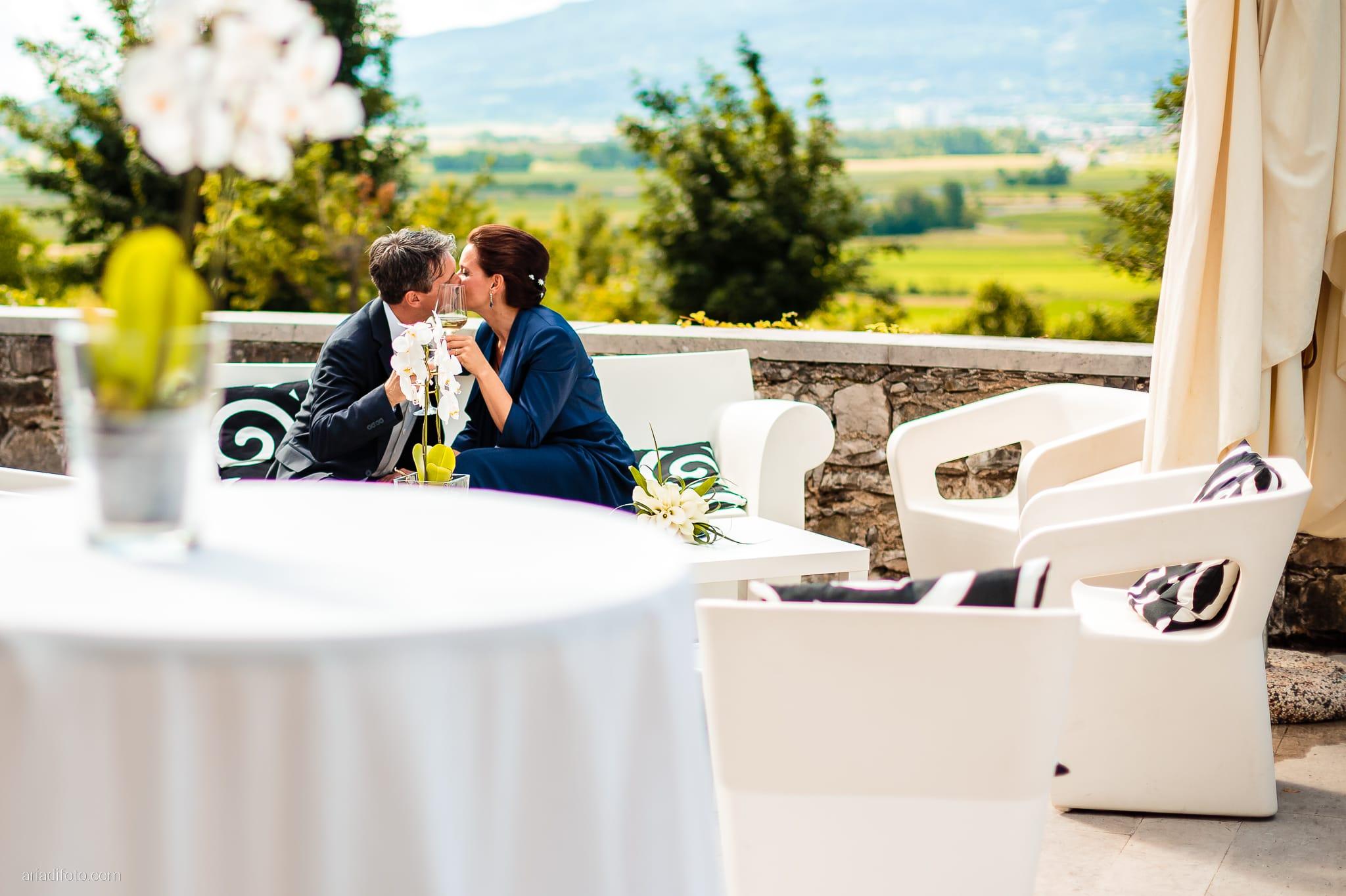 Elena Lorenzo matrimonio Zemono Vipacco Slovenia ricevimento momenti