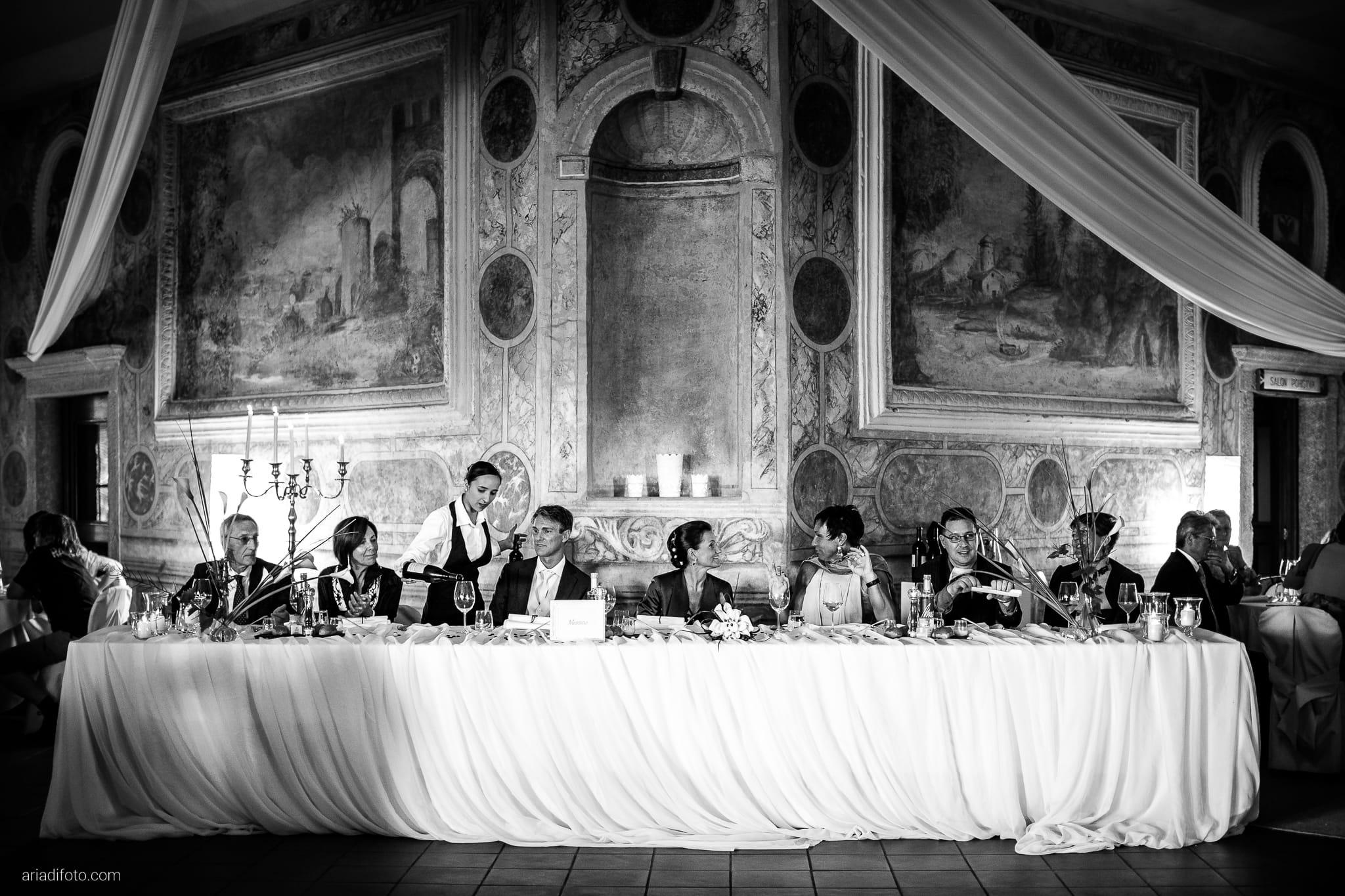 Elena Lorenzo matrimonio Zemono Vipacco Slovenia ricevimento momenti tavola
