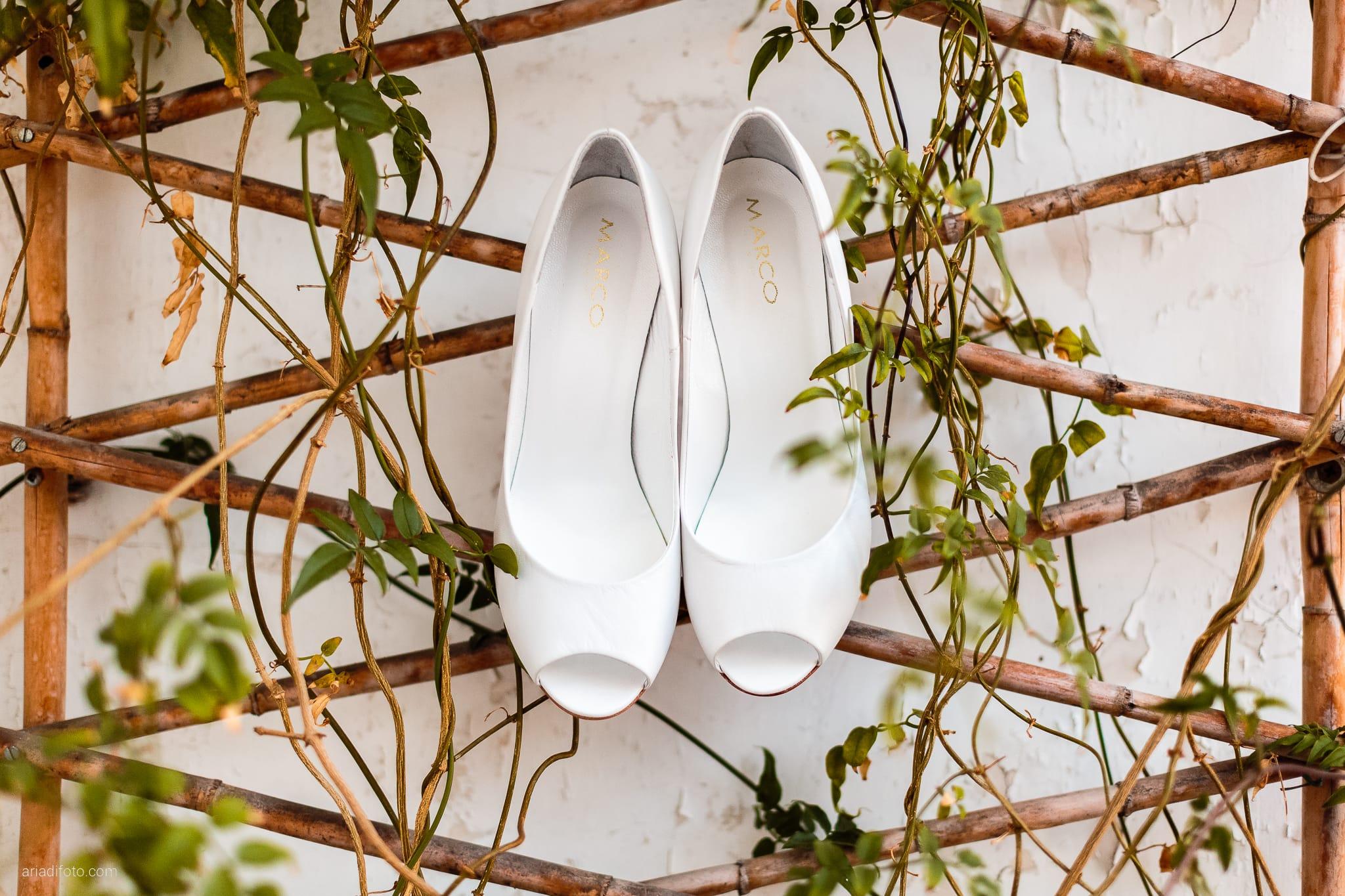 Fiordaliso Andrea matrimonio Salvia Rosmarino Trieste preparativi dettagli scarpe