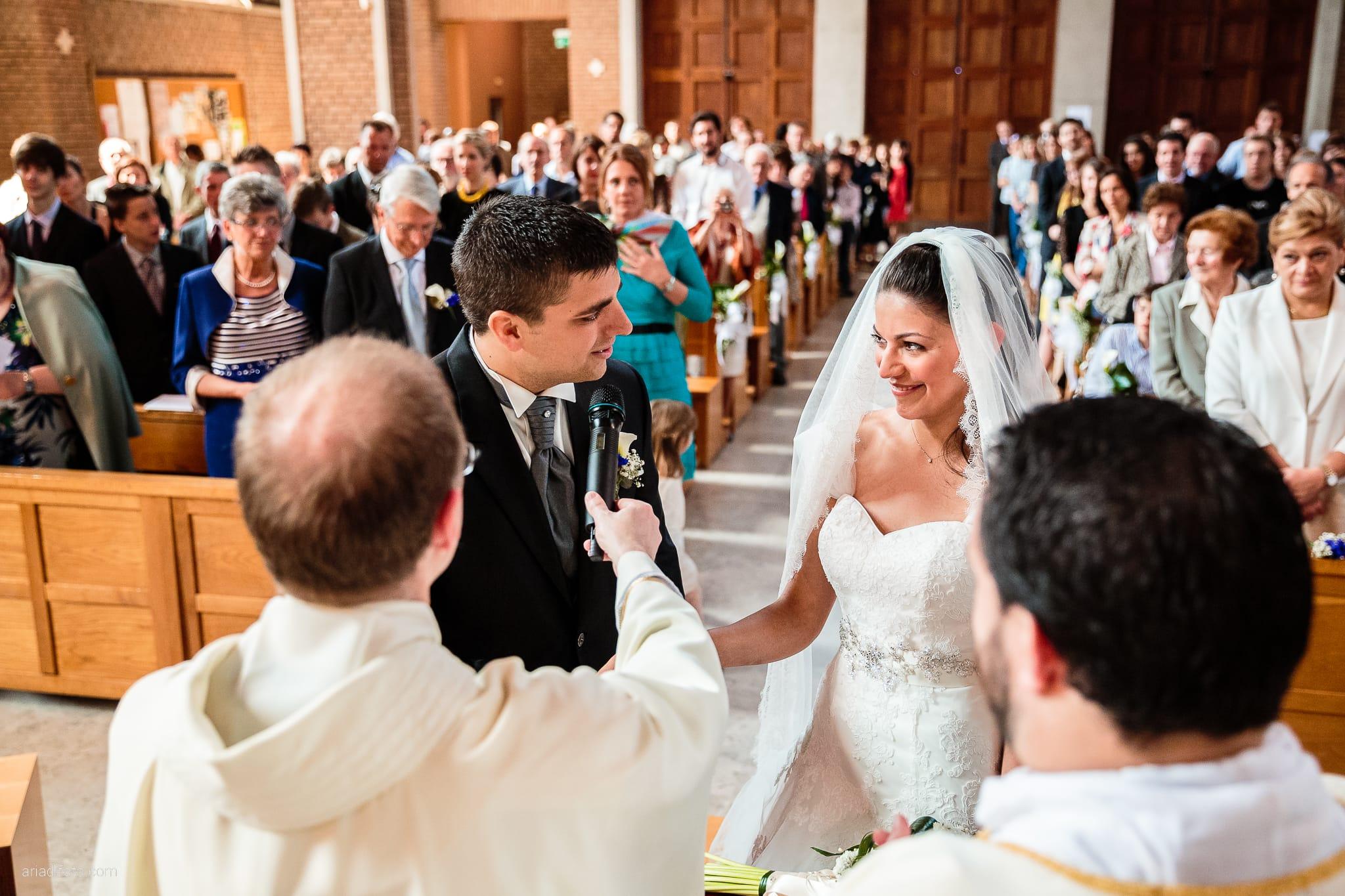 Fiordaliso Andrea matrimonio Salvia Rosmarino Trieste cerimonia promesse Beata Vergine delle Grazie