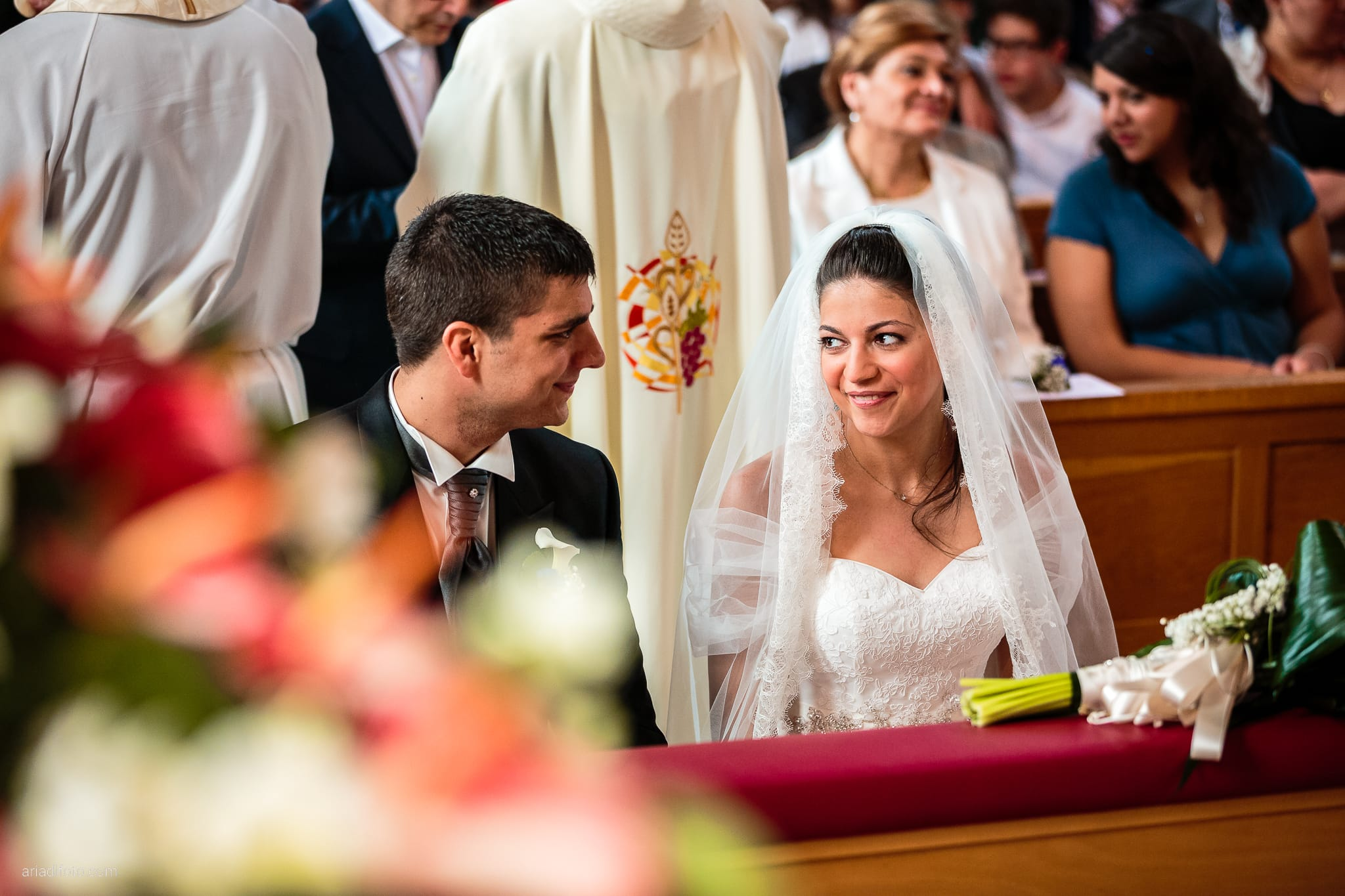 Fiordaliso Andrea matrimonio Salvia Rosmarino Trieste cerimonia Beata Vergine delle Grazie