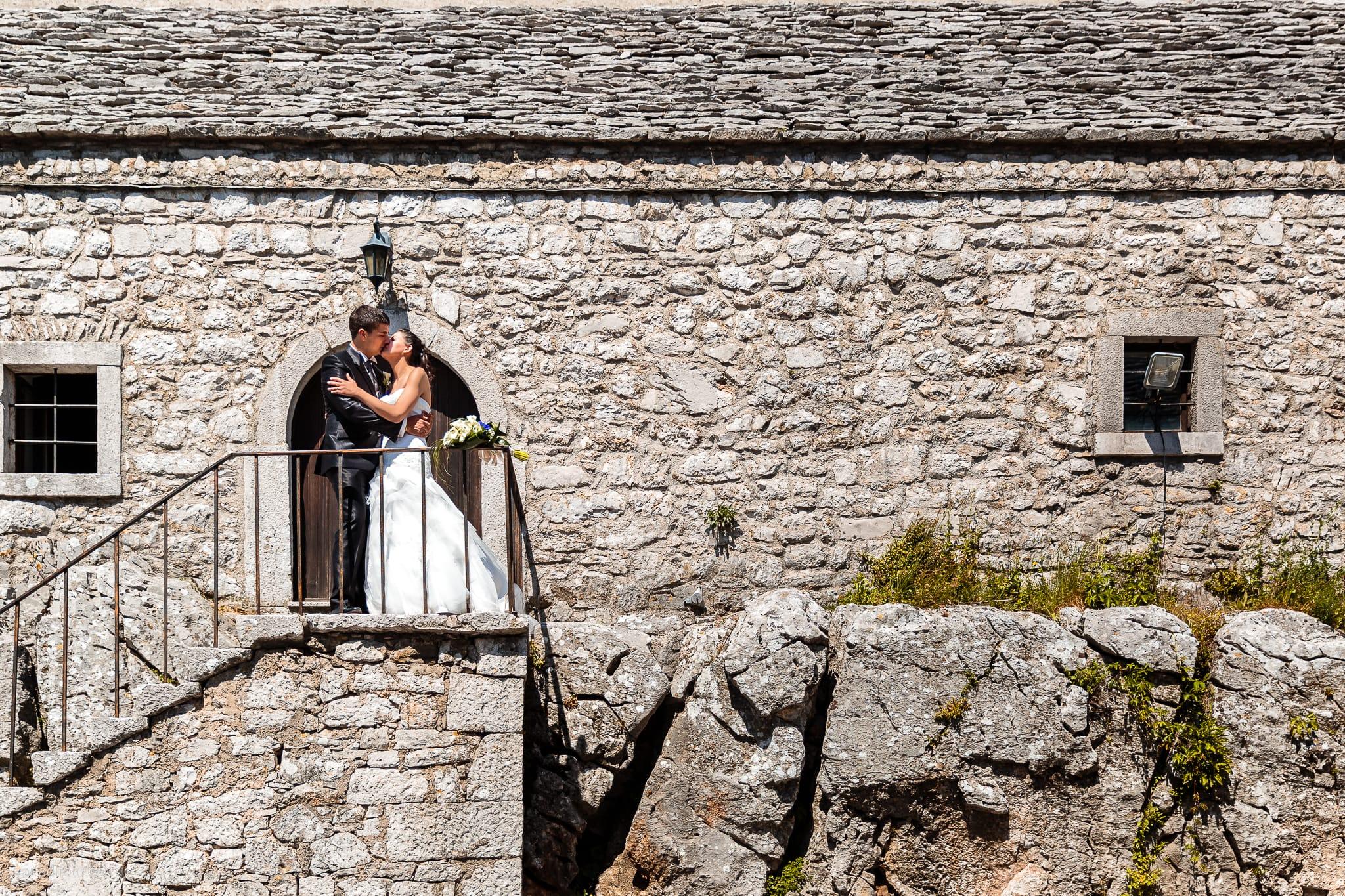 Fiordaliso Andrea matrimonio Salvia Rosmarino Trieste ritratti sposi Monrupino