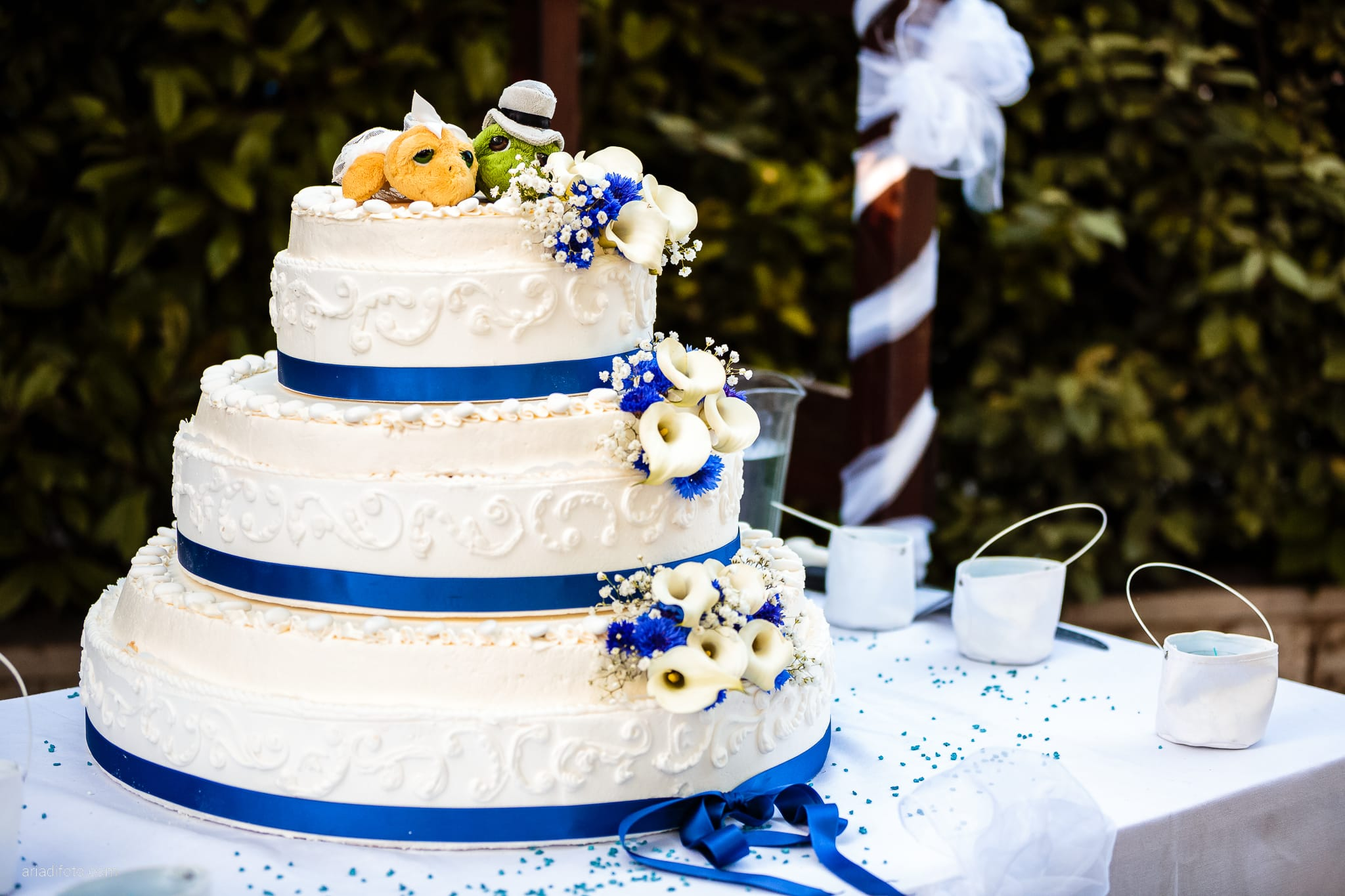 Fiordaliso Andrea matrimonio Salvia Rosmarino Trieste ricevimento torta