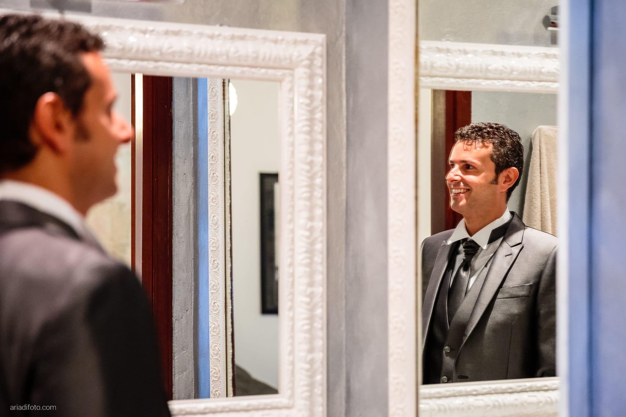 Roberta Alessandro matrimonio Duino Baronesse Tacco San Floriano del Collio Gorizia preparativi specchio riflesso