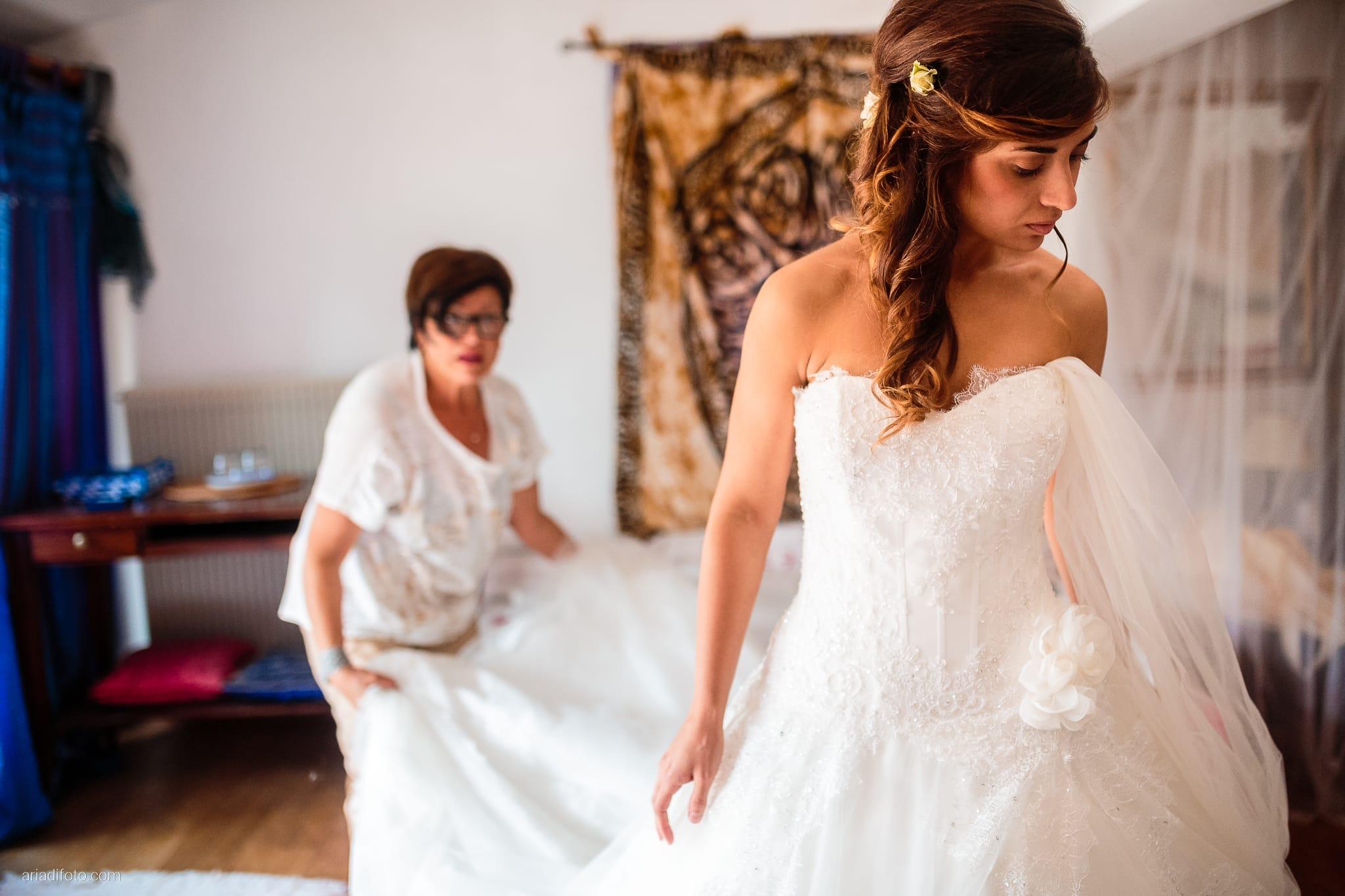 Roberta Alessandro matrimonio Duino Baronesse Tacco San Floriano del Collio Gorizia preparativi abito