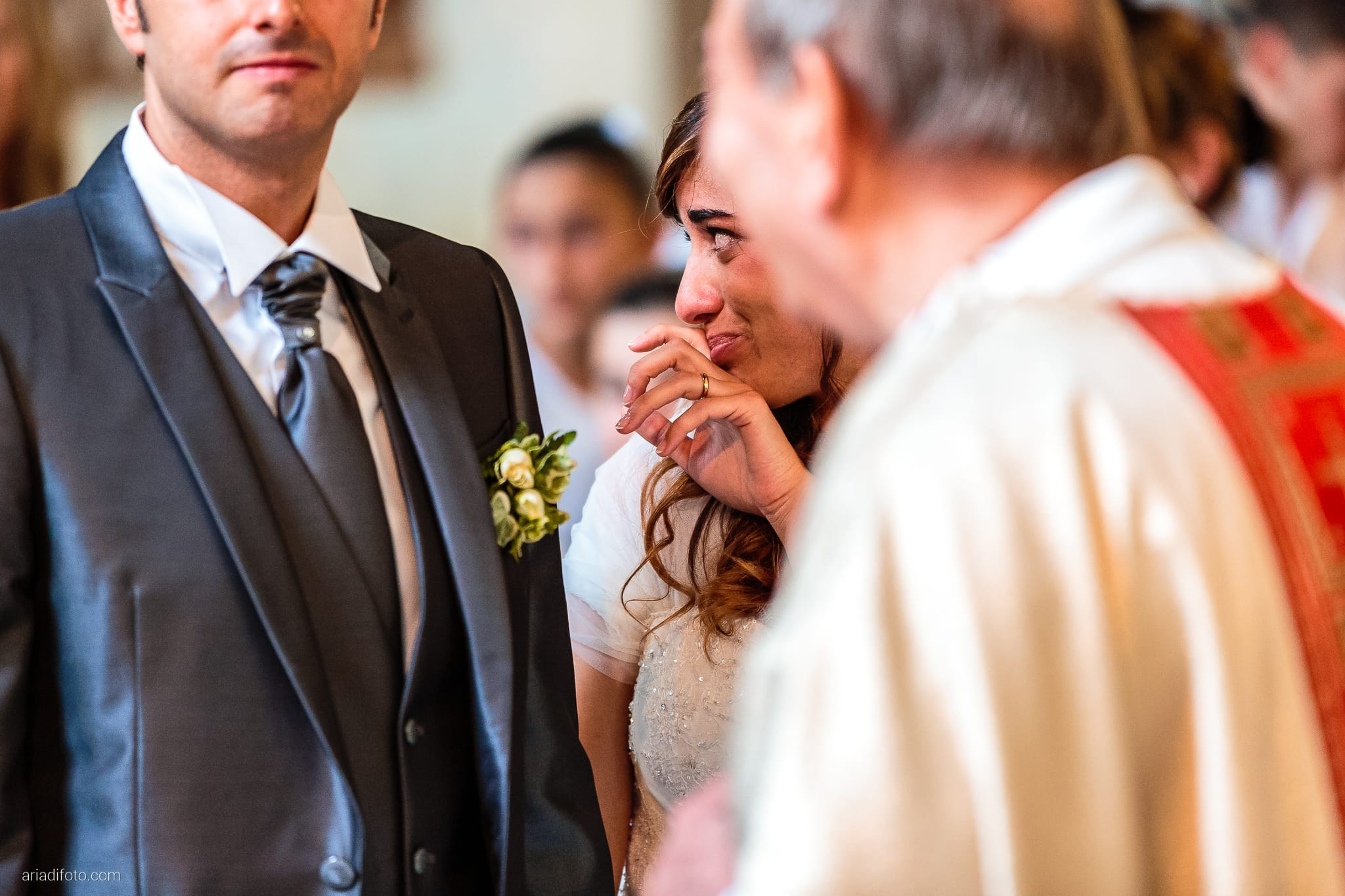 Roberta Alessandro matrimonio Duino San Giovanni in Tuba Baronesse Tacco San Floriano del Collio Gorizia cerimonia lacrime