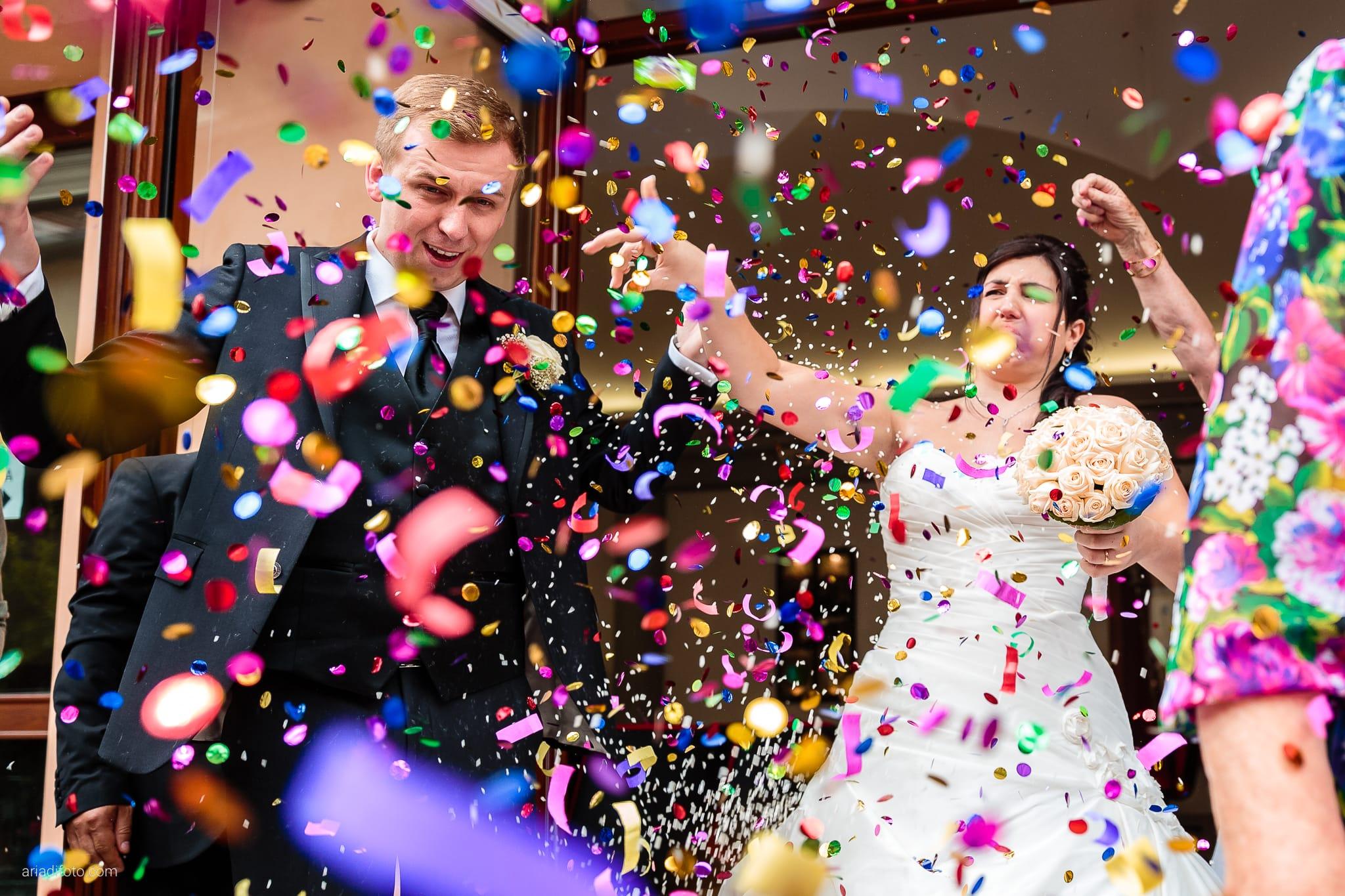 Chiara Mensur matrimonio Pradamano Baronesse Tacco San Floriano del Collio Gorizia lancio del riso