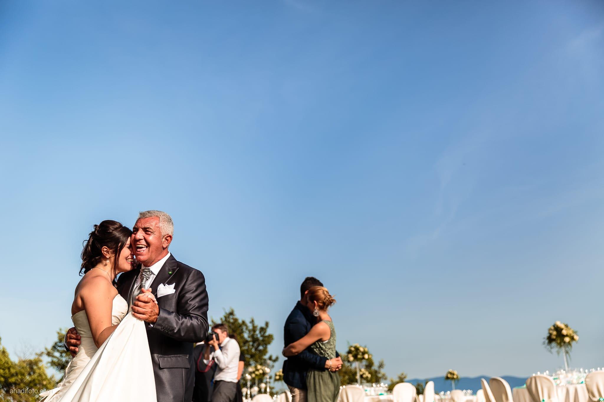 Chiara Mensur matrimonio Pradamano Baronesse Tacco San Floriano del Collio Gorizia ricevimento primo ballo papà