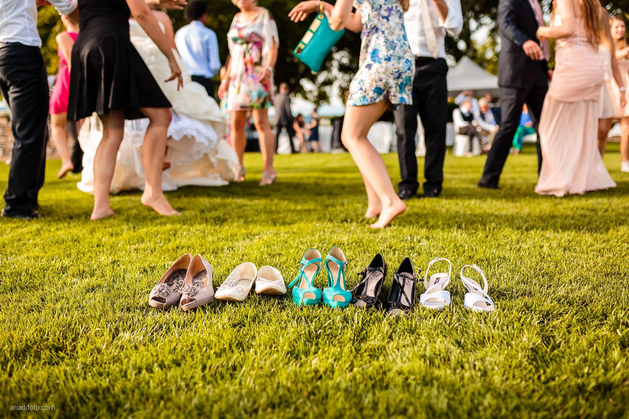 Chiara Mensur matrimonio Pradamano Baronesse Tacco San Floriano del Collio Gorizia ricevimento festa balli scarpe