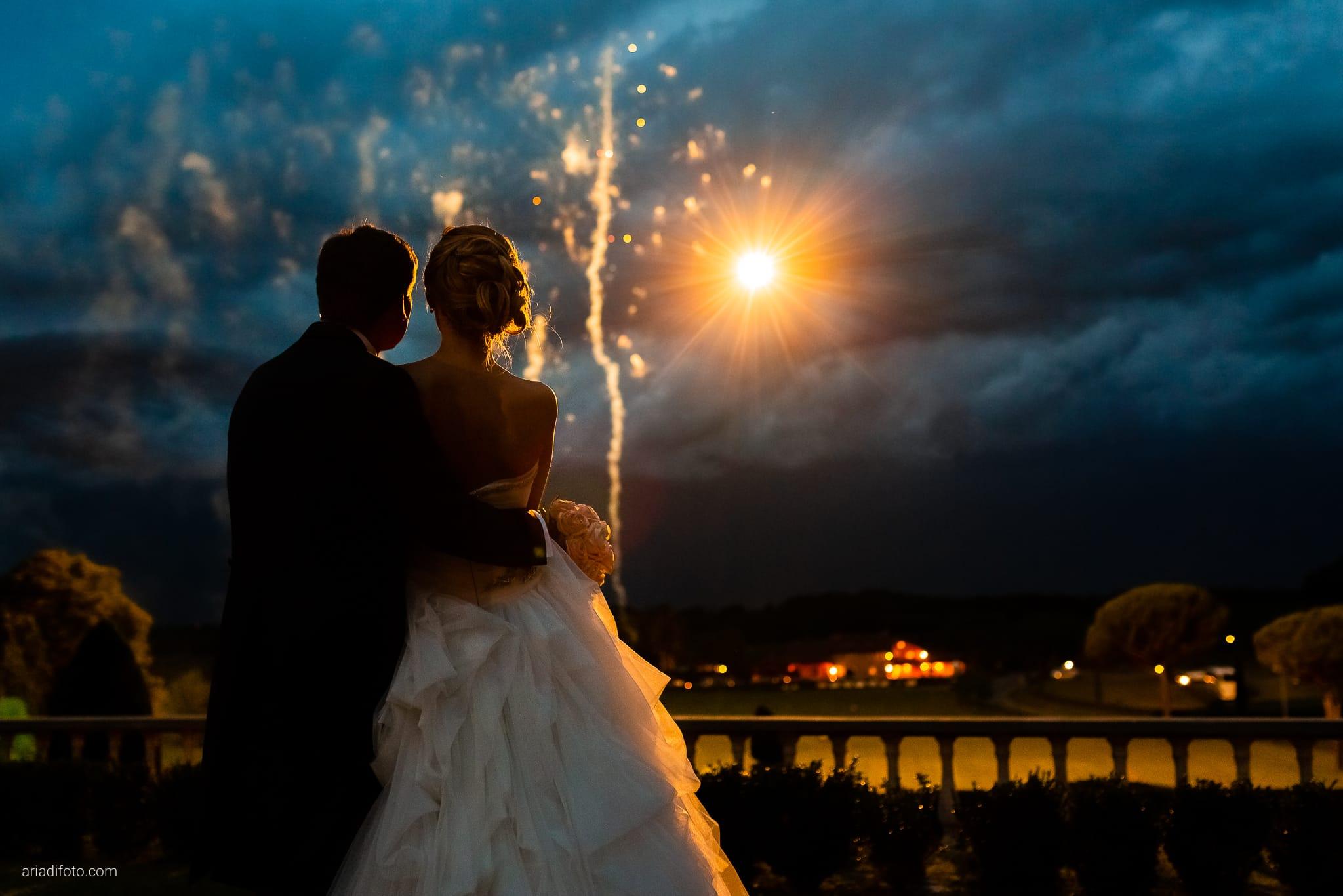 Martina Maurizio matrimonio Trieste Castello Spessa Gorizia ricevimento fuochi d'artificio
