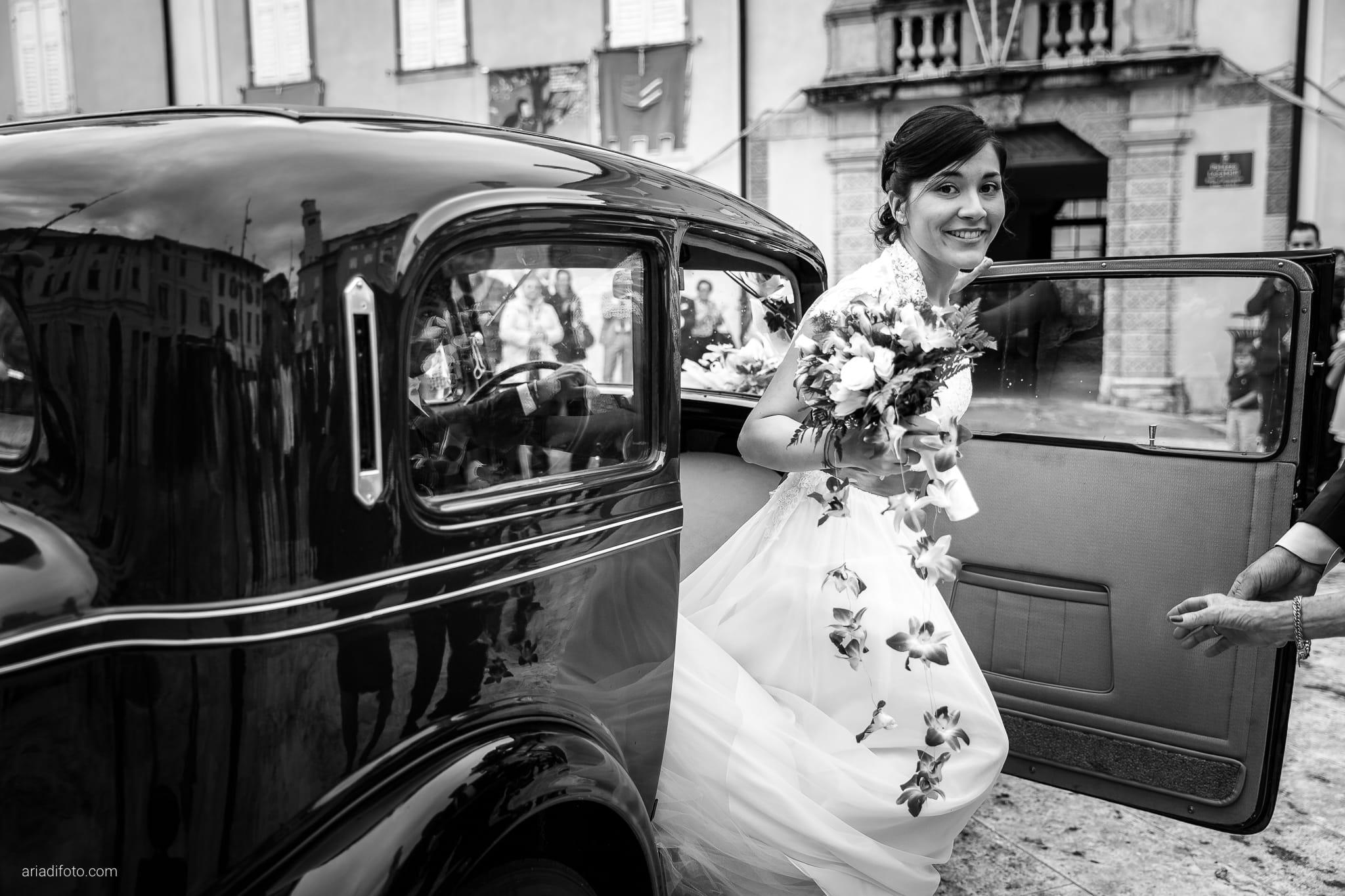 Dorella Stefano matrimonio Cormons Villa Chiopris Udine momenti auto sposa balilla