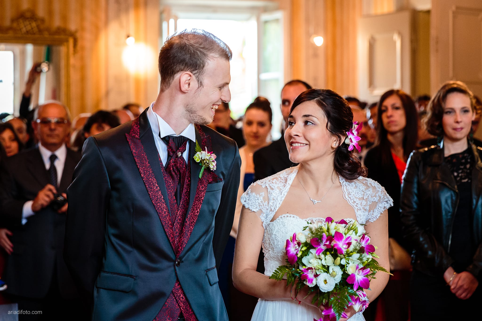 Dorella Stefano matrimonio Cormons Villa Chiopris Udine cerimonia ingresso sposa