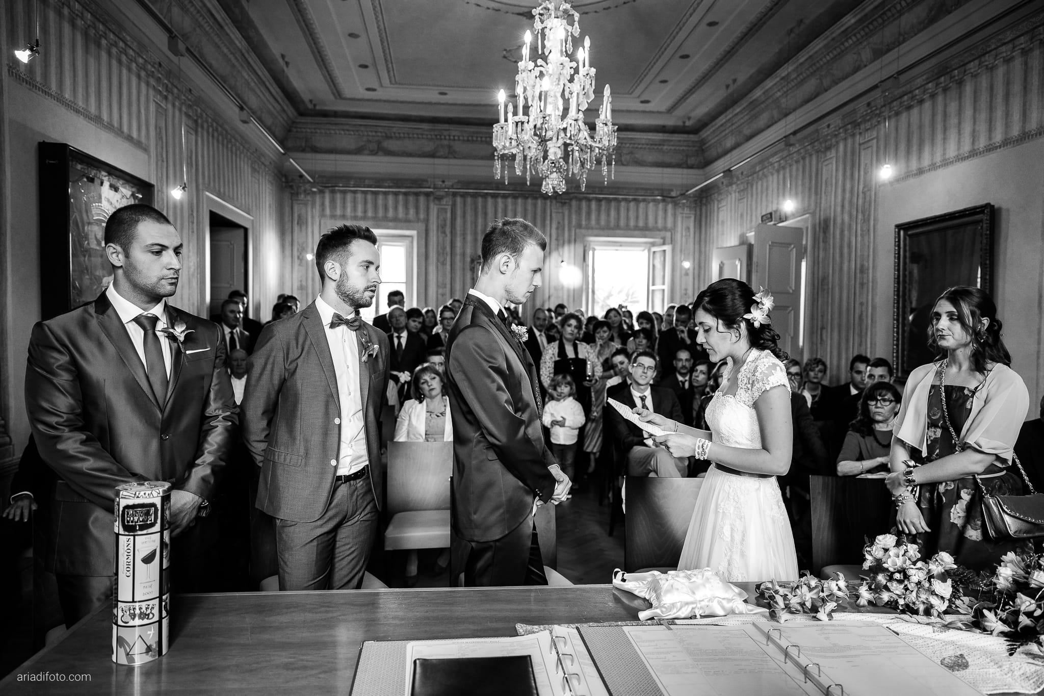 Dorella Stefano matrimonio Cormons Villa Chiopris Udine cerimonia promesse