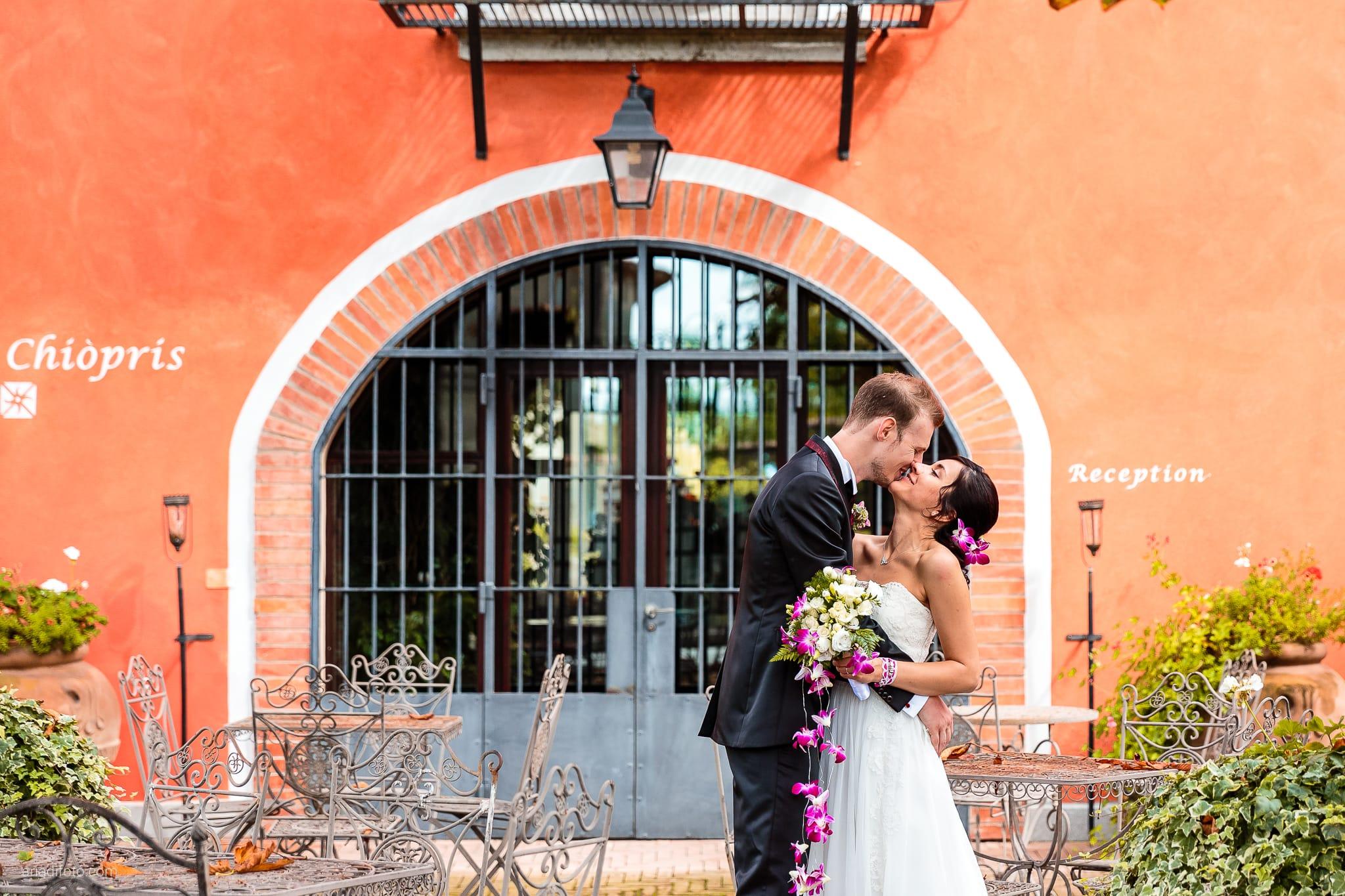 Dorella Stefano matrimonio Cormons Villa Chiopris Udine ritratti sposi