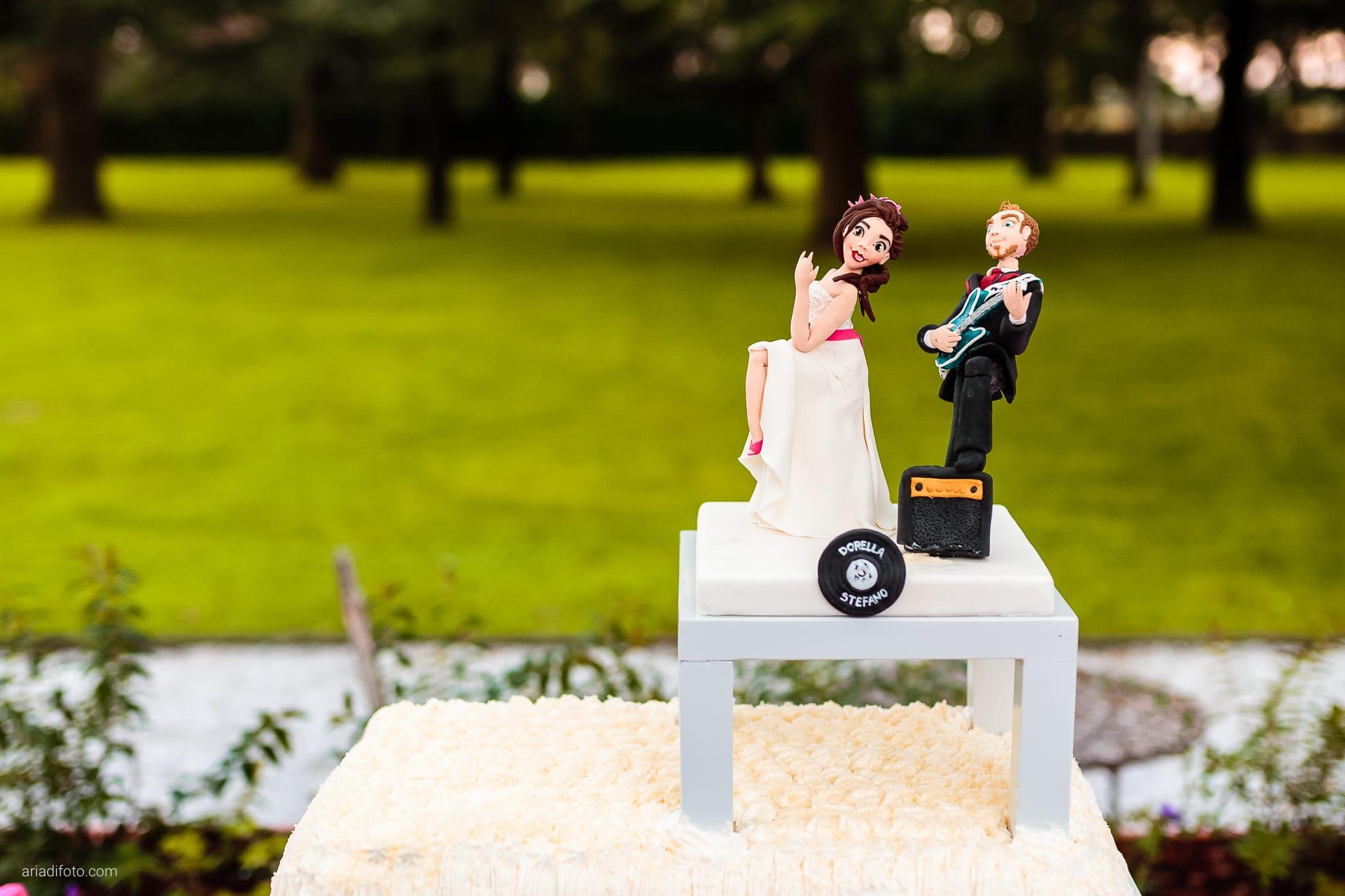 Dorella Stefano matrimonio Cormons Villa Chiopris Udine ricevimento dettagli torta