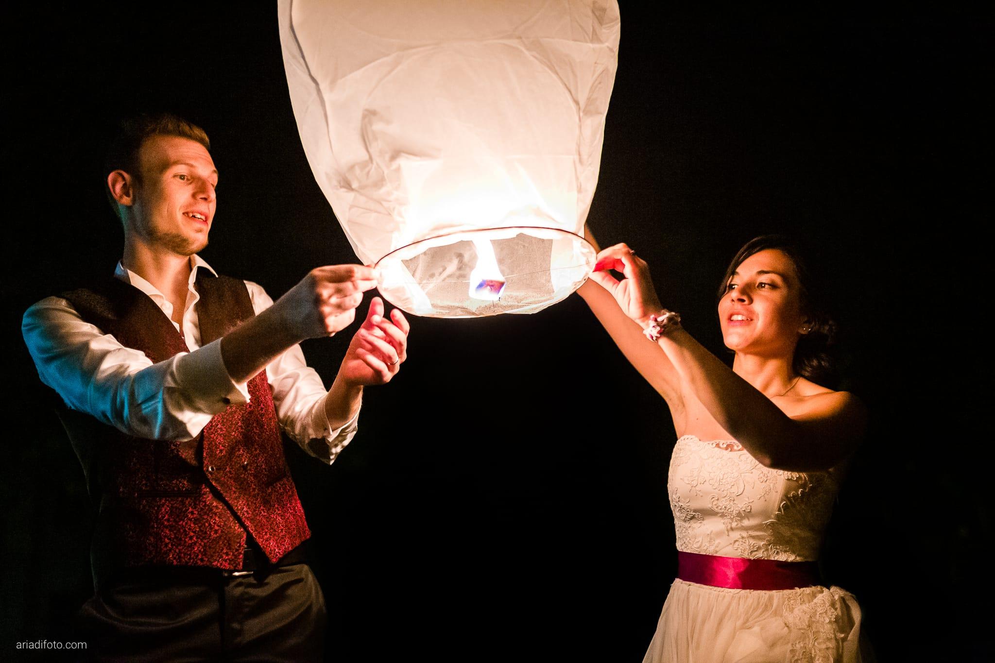 Dorella Stefano matrimonio Cormons Villa Chiopris Udine ricevimento festa lanterne
