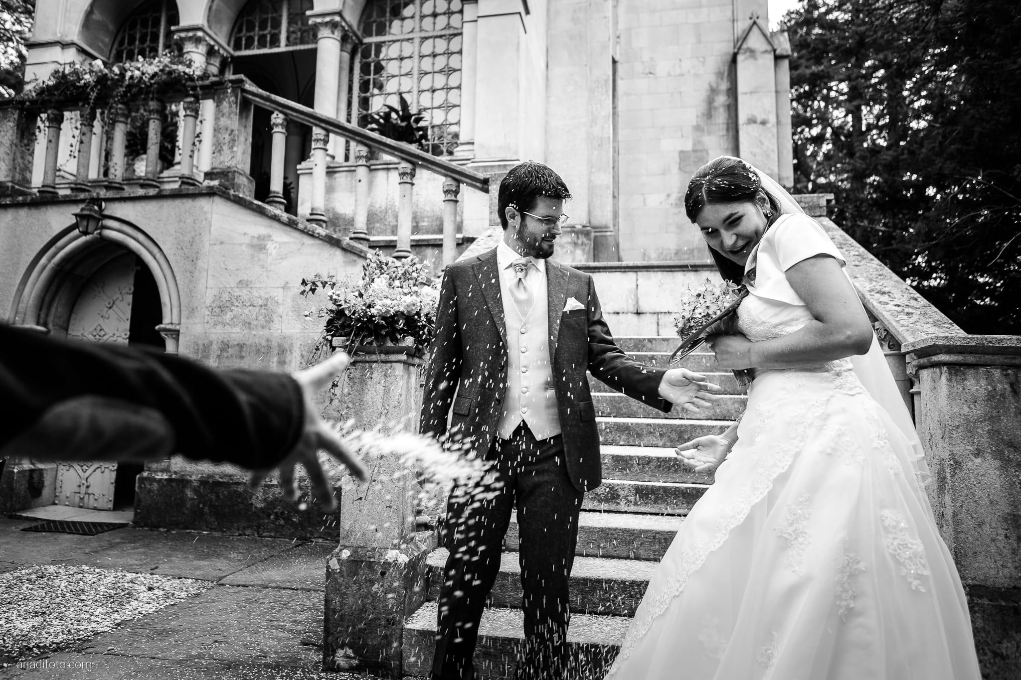 Ester Andrea matrimonio Trieste Villa Revoltella Stanjel Slovenia lancio del riso San Pasquale