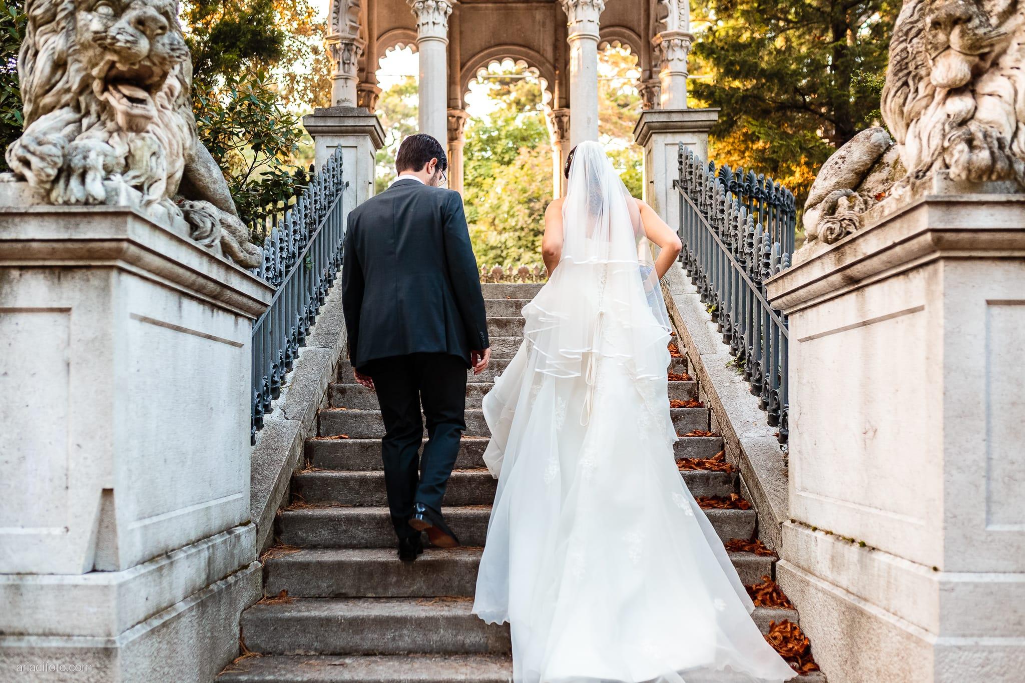 Ester Andrea matrimonio Trieste Villa Revoltella Stanjel Slovenia ritratti sposi