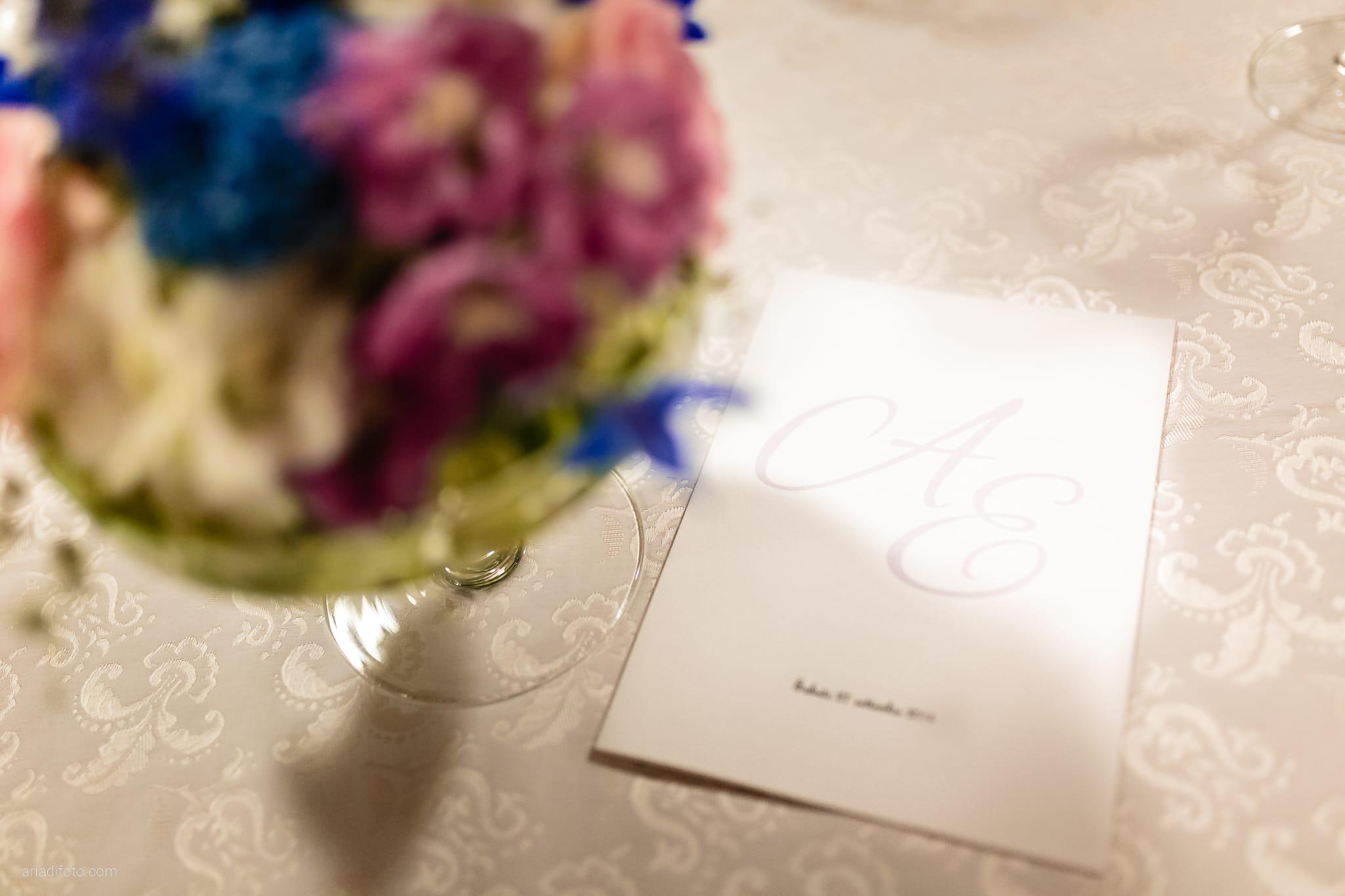 Ester Andrea matrimonio Trieste Villa Revoltella Stanjel Slovenia Gostilna Kobjeglava ricevimento dettagli decorazioni allestimenti sala fiori menu