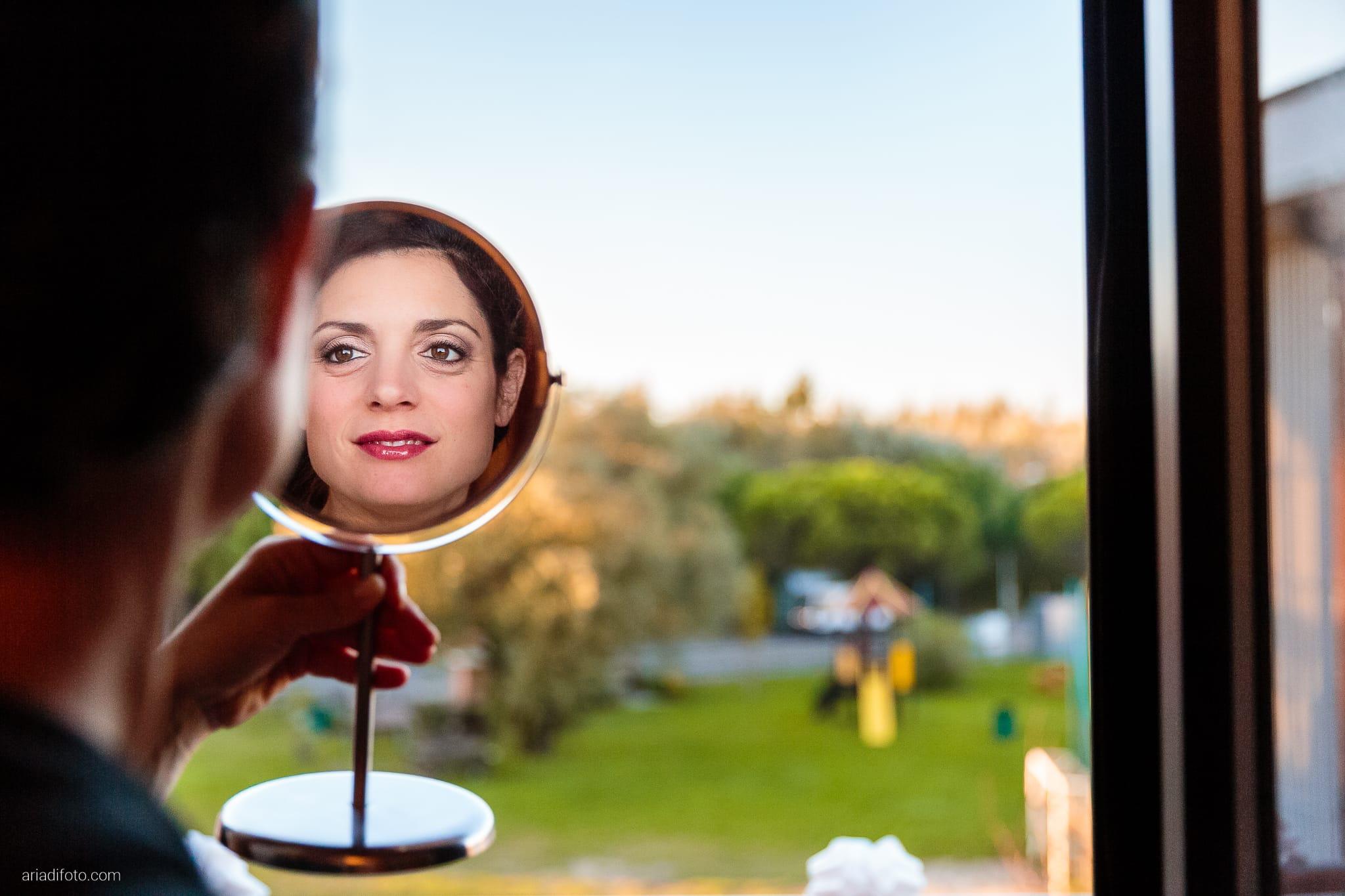 Francesca Patrick matrimonio Grado Villa Rigatti Fiumicello Udine preparativi trucco specchio riflesso