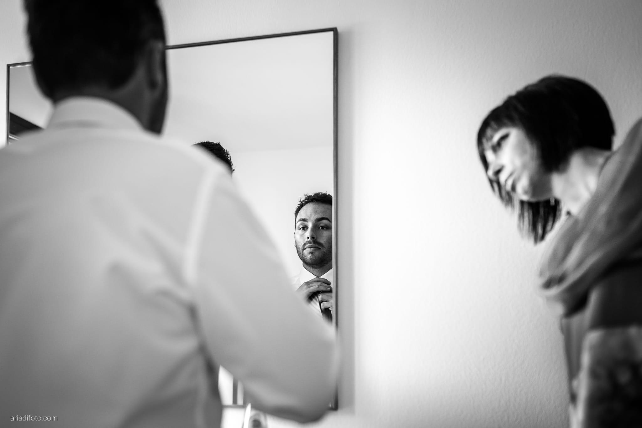 Francesca Patrick matrimonio Grado Villa Rigatti Fiumicello Udine preparativi specchio riflesso