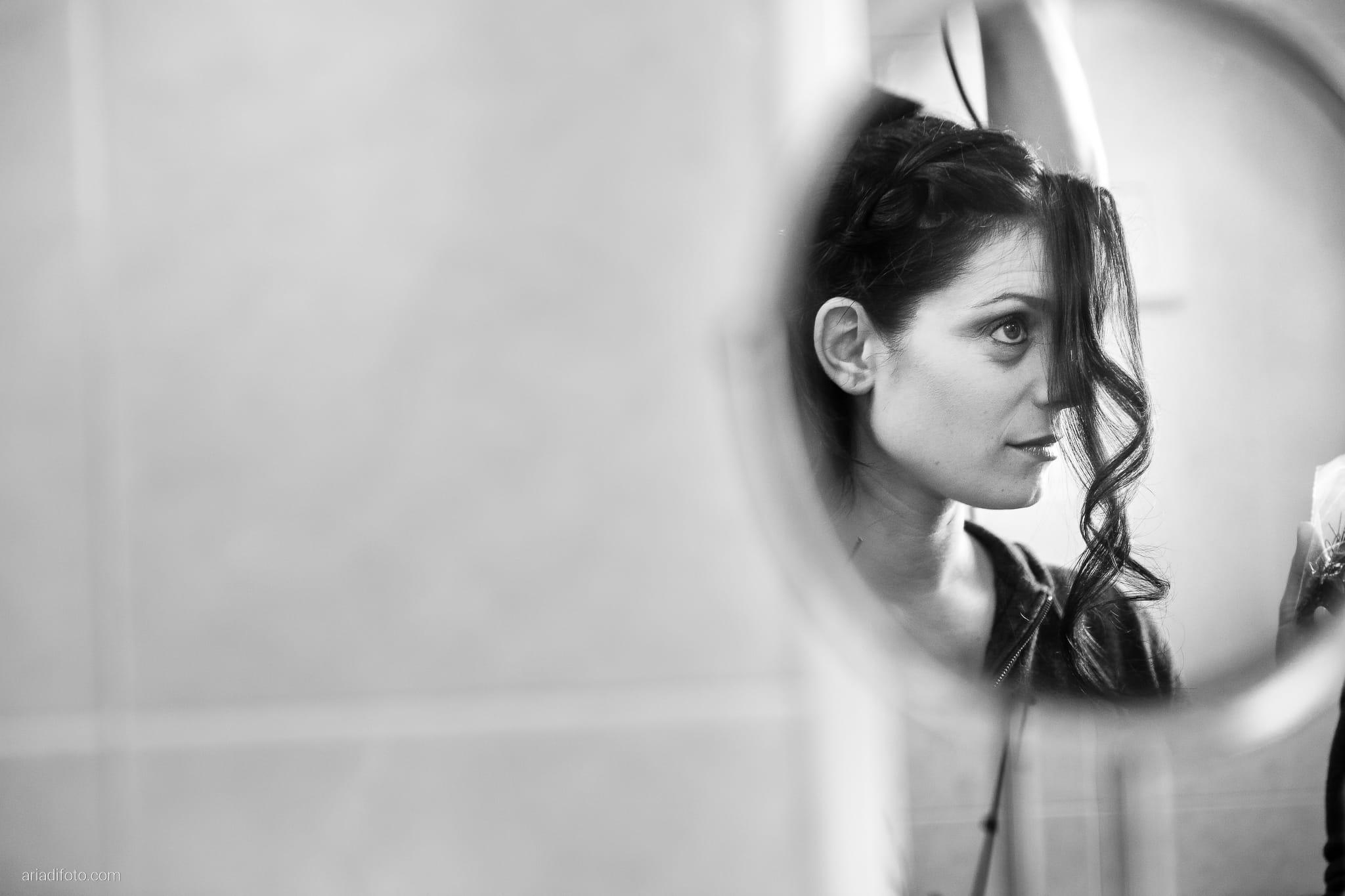 Francesca Patrick matrimonio Grado Villa Rigatti Fiumicello Udine preparativi specchio riflesso acconciatura