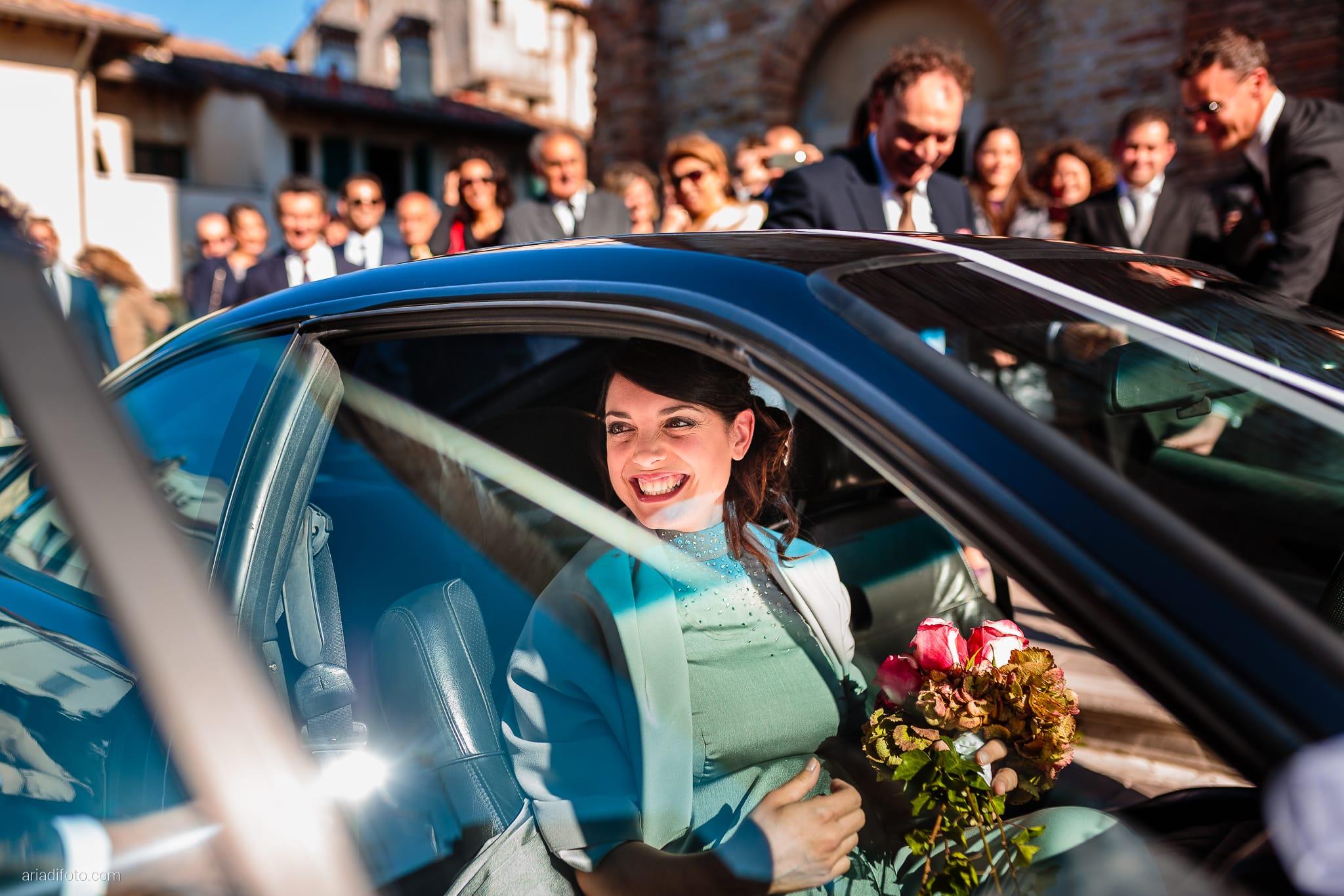 Francesca Patrick matrimonio Grado Villa Rigatti Fiumicello Udine auto sposa