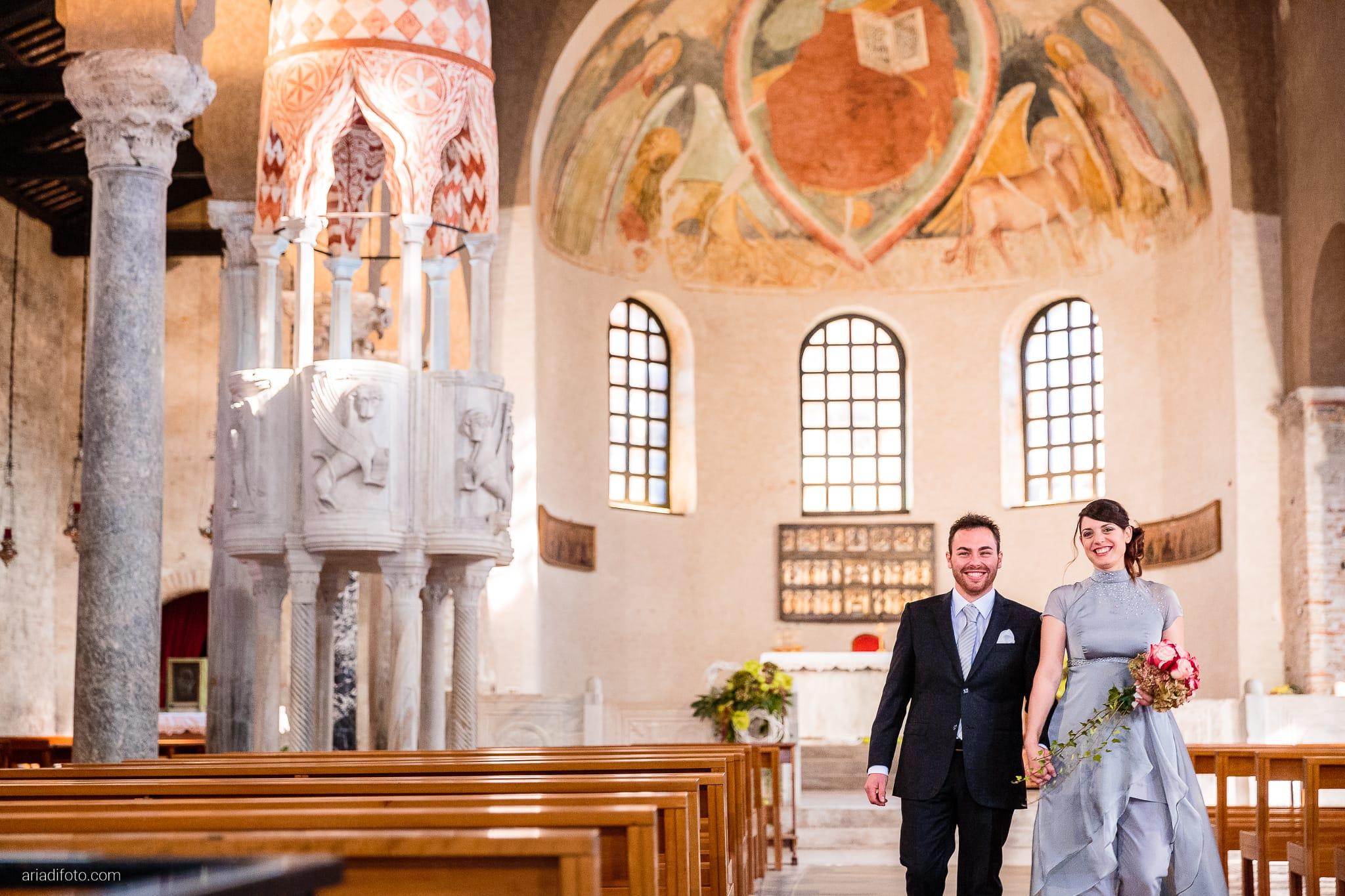 Francesca Patrick matrimonio Grado Villa Rigatti Fiumicello Udine cerimonia Basilica di Sant'Eufemia