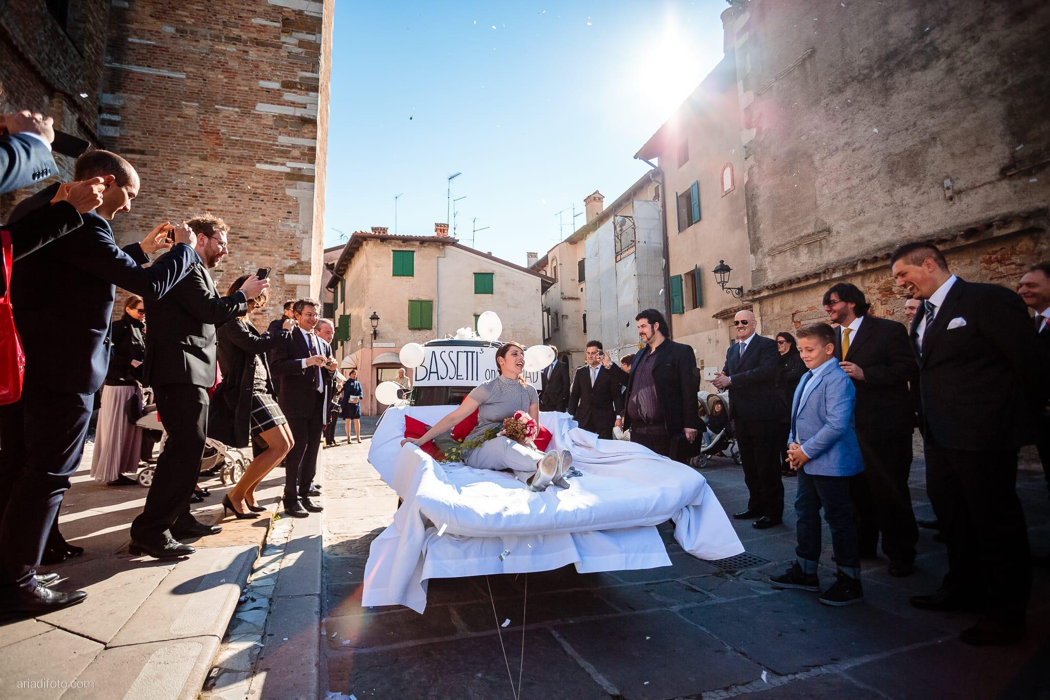 Francesca Patrick matrimonio Grado Villa Rigatti Fiumicello Udine momenti scherzi amici Basilica di Sant'Eufemia