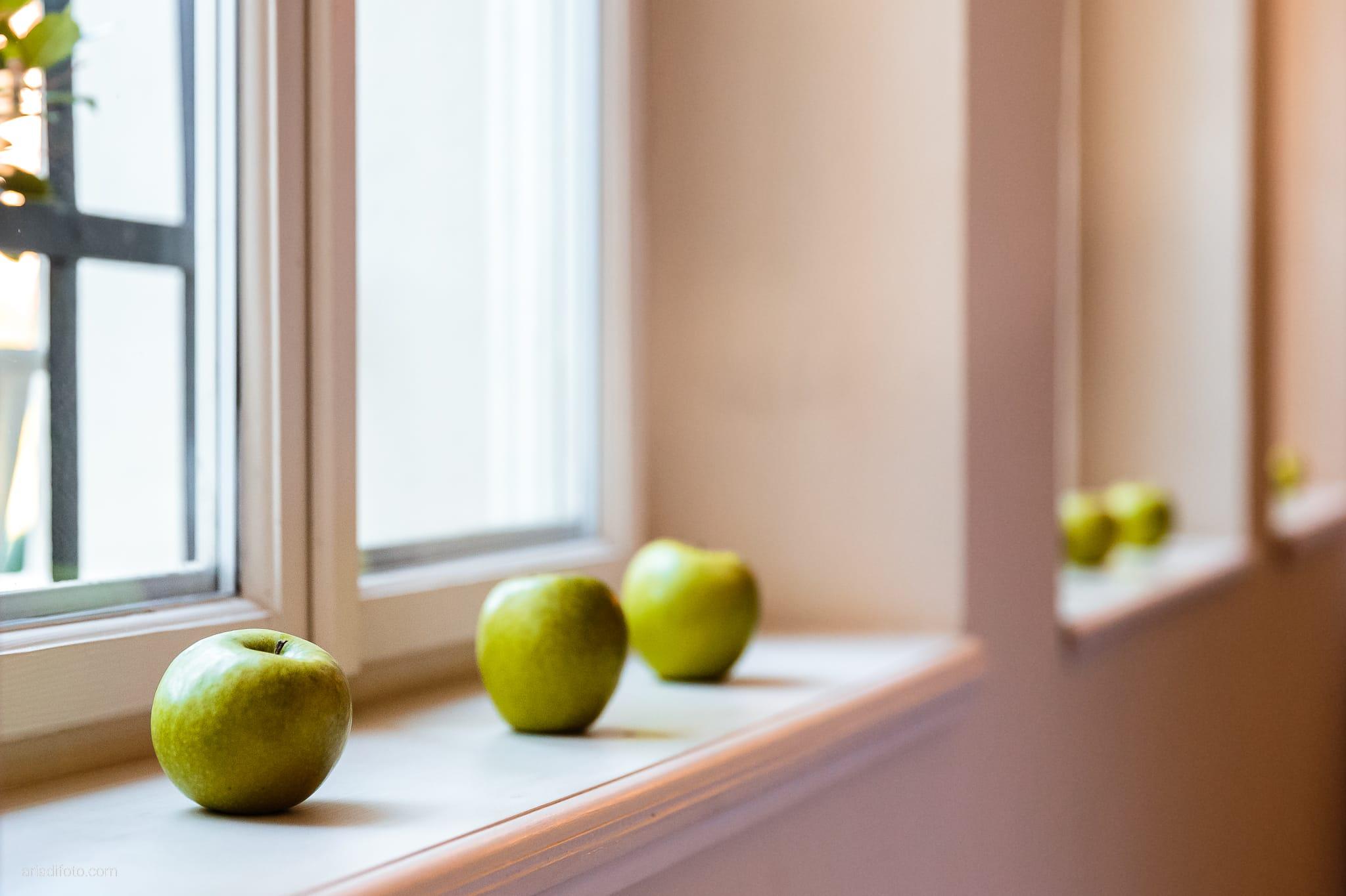 Francesca Patrick matrimonio Grado Villa Rigatti Fiumicello Udine ricevimento dettagli decorazioni mele