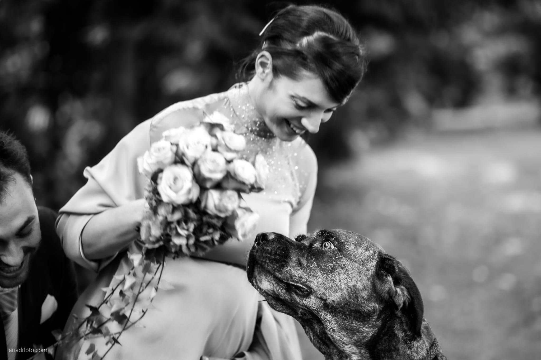 Francesca Patrick matrimonio Grado Villa Rigatti Fiumicello Udine ricevimento momenti cani