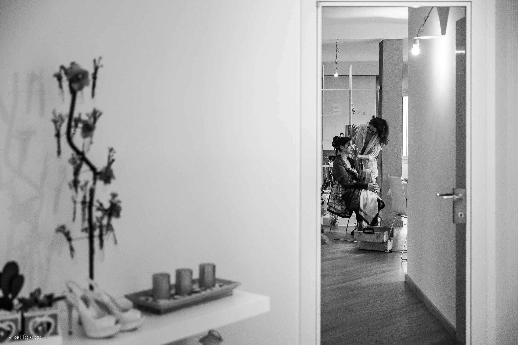 Elisa Matteo matrimonio Preval Gorizia Paradiso Pocenia Udine preparativi riflesso specchio